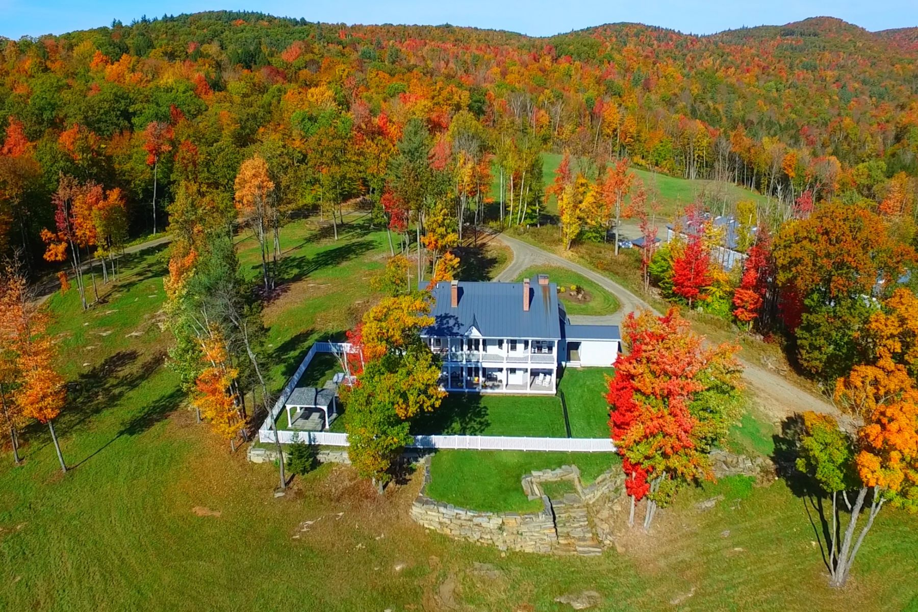 Single Family Home for Sale at Private Country Estate with 1470 Acres 400 Timberbrook Ln Townshend, Vermont, 05353 United States