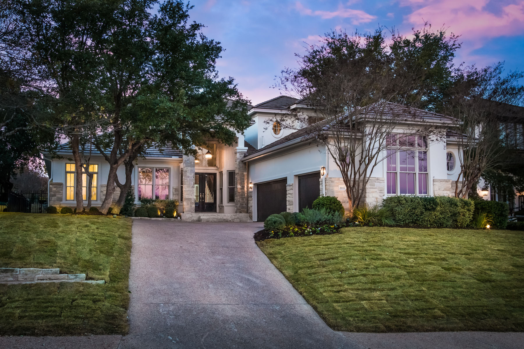 Single Family Home for Sale at Beautifully Remodeled with Clean Lines 8837 Chalk Knoll Dr Austin, Texas 78735 United States