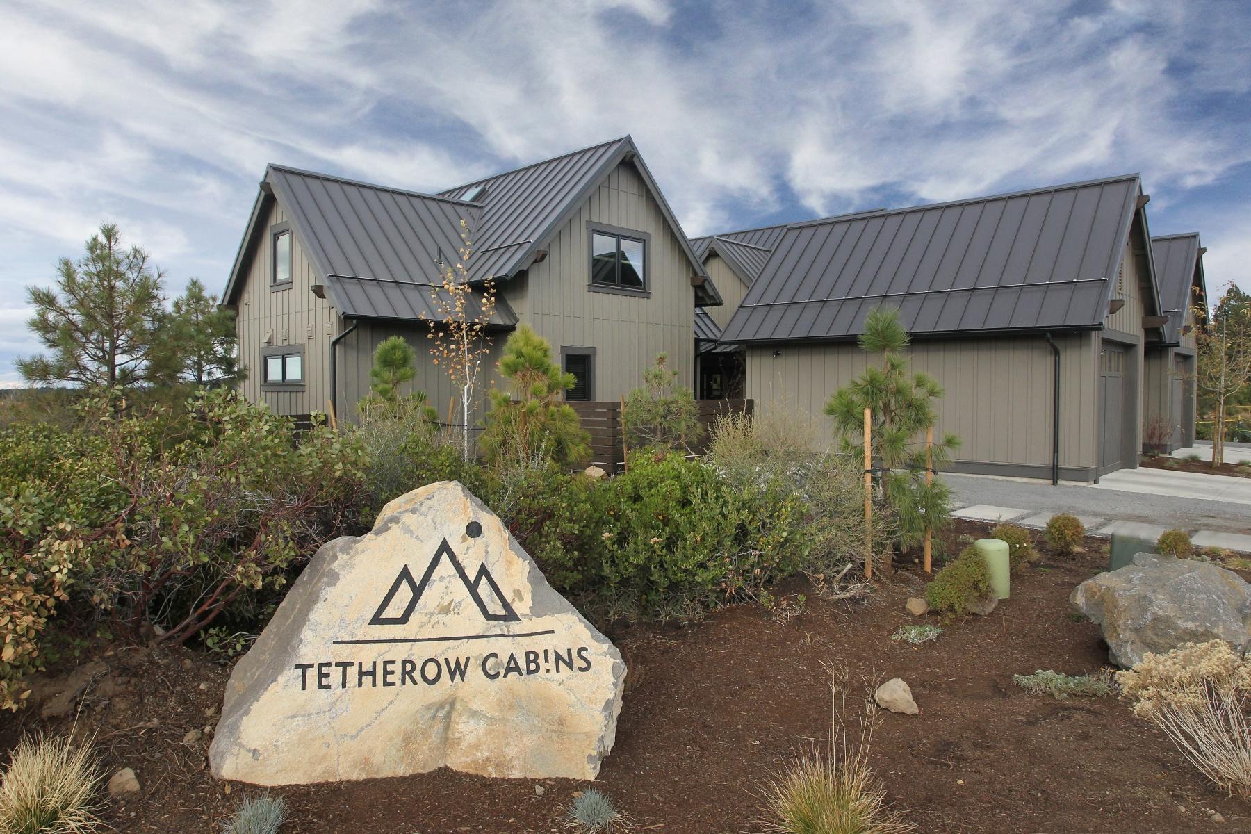 Maison unifamiliale pour l Vente à Tetherow Resort Cabin 19363 Blue Bucket Ln 18 Bend, Oregon, 97702 États-Unis