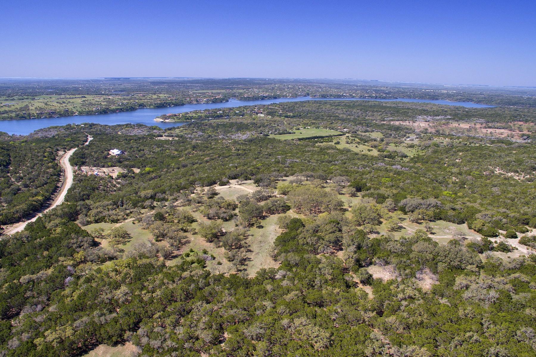Hacienda / Granja / Rancho / Plantación por un Venta en VIEWS!! 70 Acres Lake Travis Near Austin, Tx Travis Peak Trl- 70 Acres Marble Falls, Texas 78654 Estados Unidos