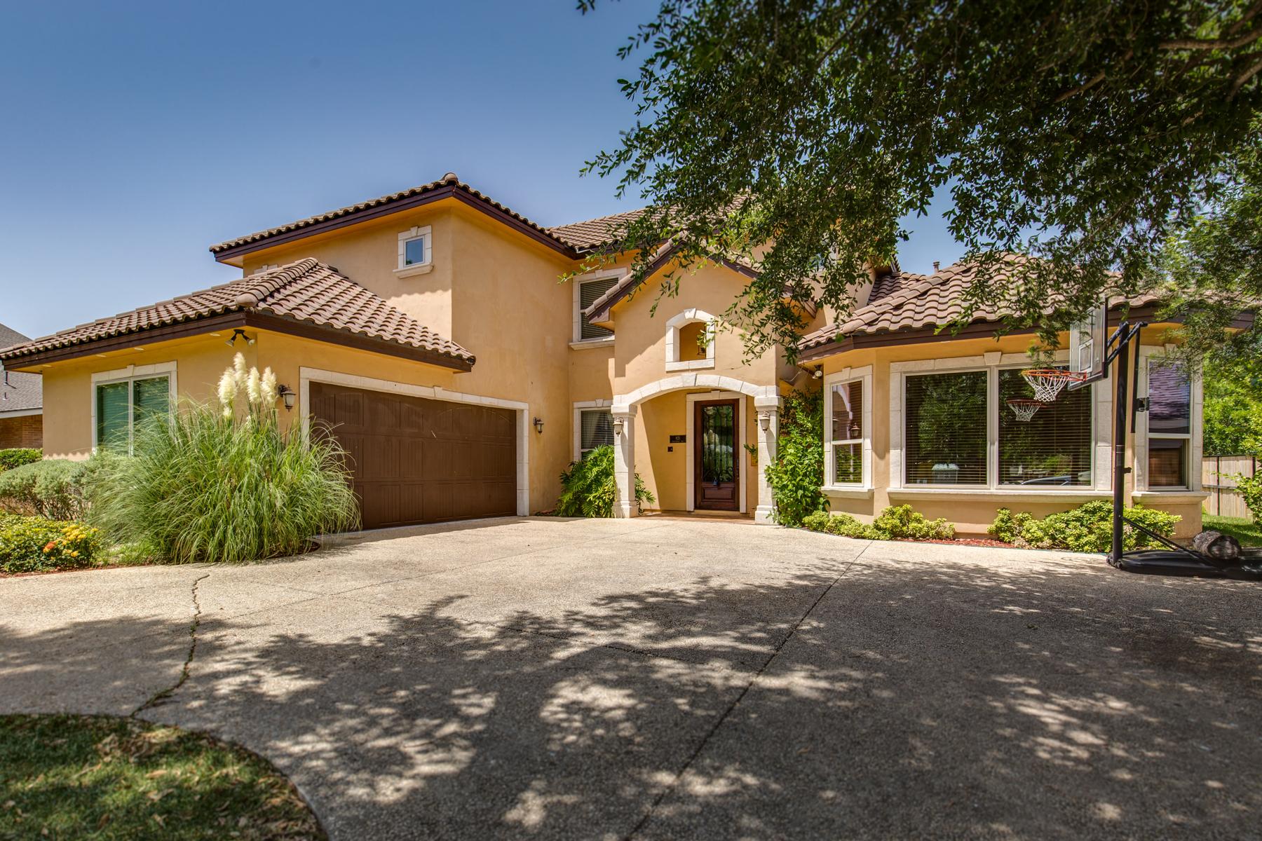 Casa Unifamiliar por un Venta en Grand Mediterranean Estate in Terrell Hills 821 Canterbury Hill St San Antonio, Texas 78209 Estados Unidos