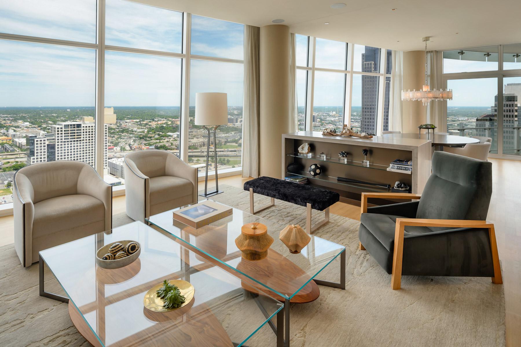 Villa per Vendita alle ore Museum Tower Condominium 1918 Olive St 3602 Dallas, Texas, 75201 Stati Uniti