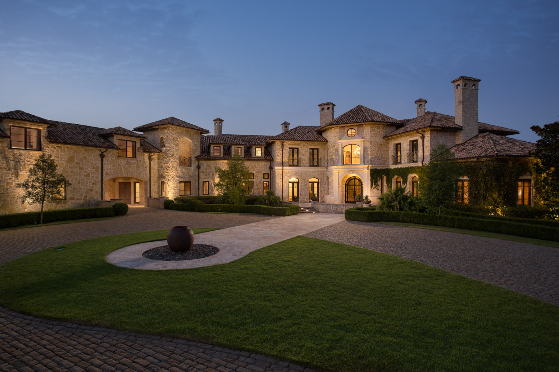 Single Family Home for Sale at Tuscan Inspired Home 3620 Ranchero Rd Dallas, Texas, 75236 United States