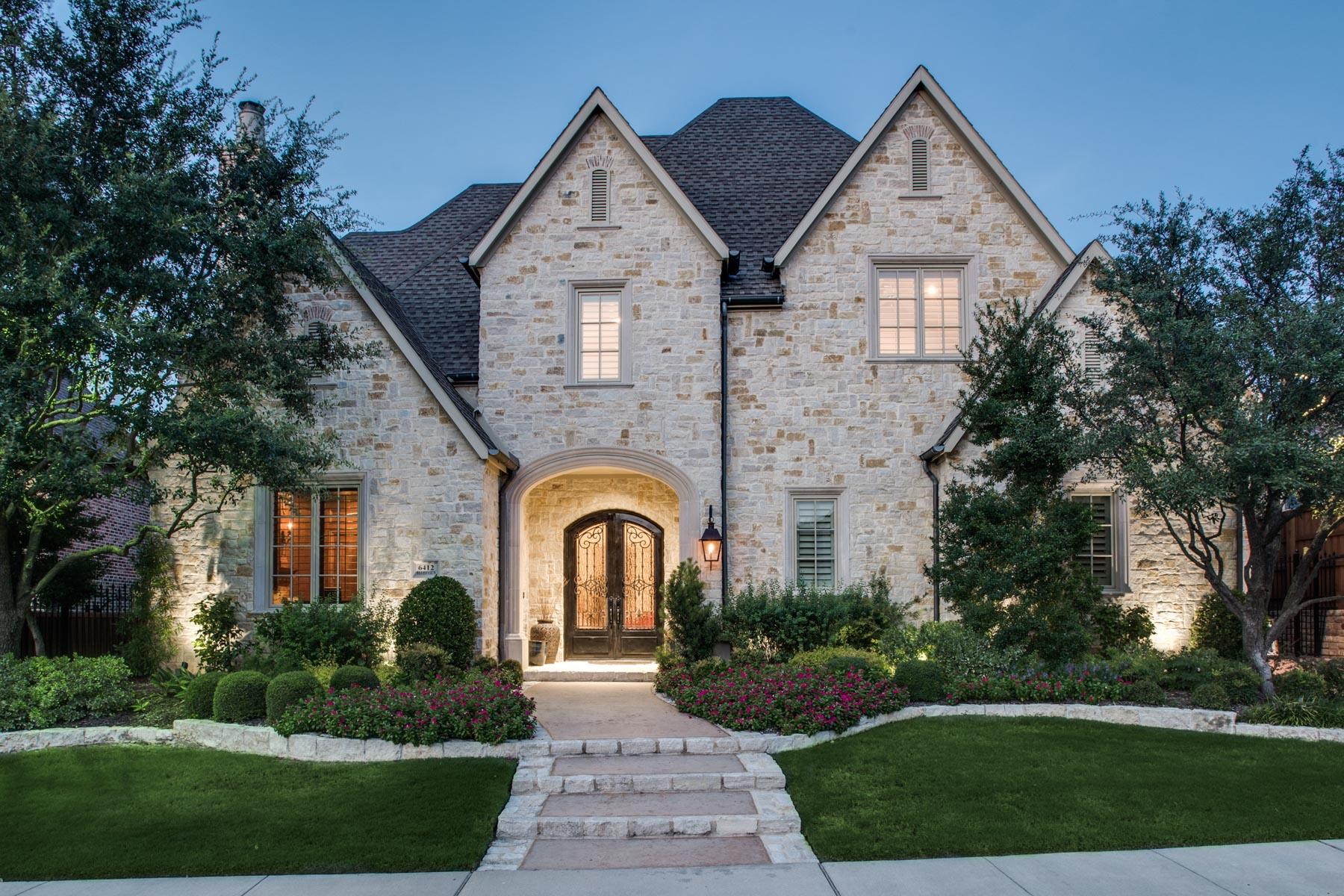 Einfamilienhaus für Verkauf beim Custom Robert Balkman Estate 6412 Bluffview Dr Frisco, Texas, 75034 Vereinigte Staaten