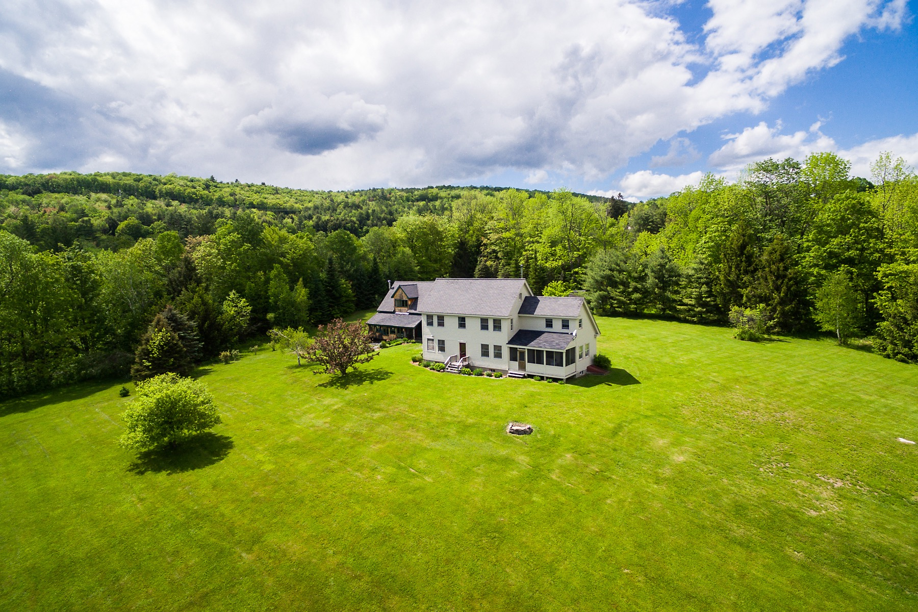 Single Family Home for Sale at Vermont Homestead in Pastoral Setting 350 Farrar Rd Chester, Vermont 05143 United States