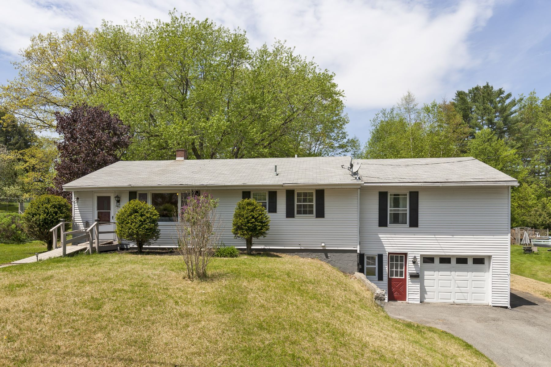 Single Family Home for Sale at Four bedroom Ranch in great location 15 Whitcomb Ave Lebanon, New Hampshire, 03784 United States