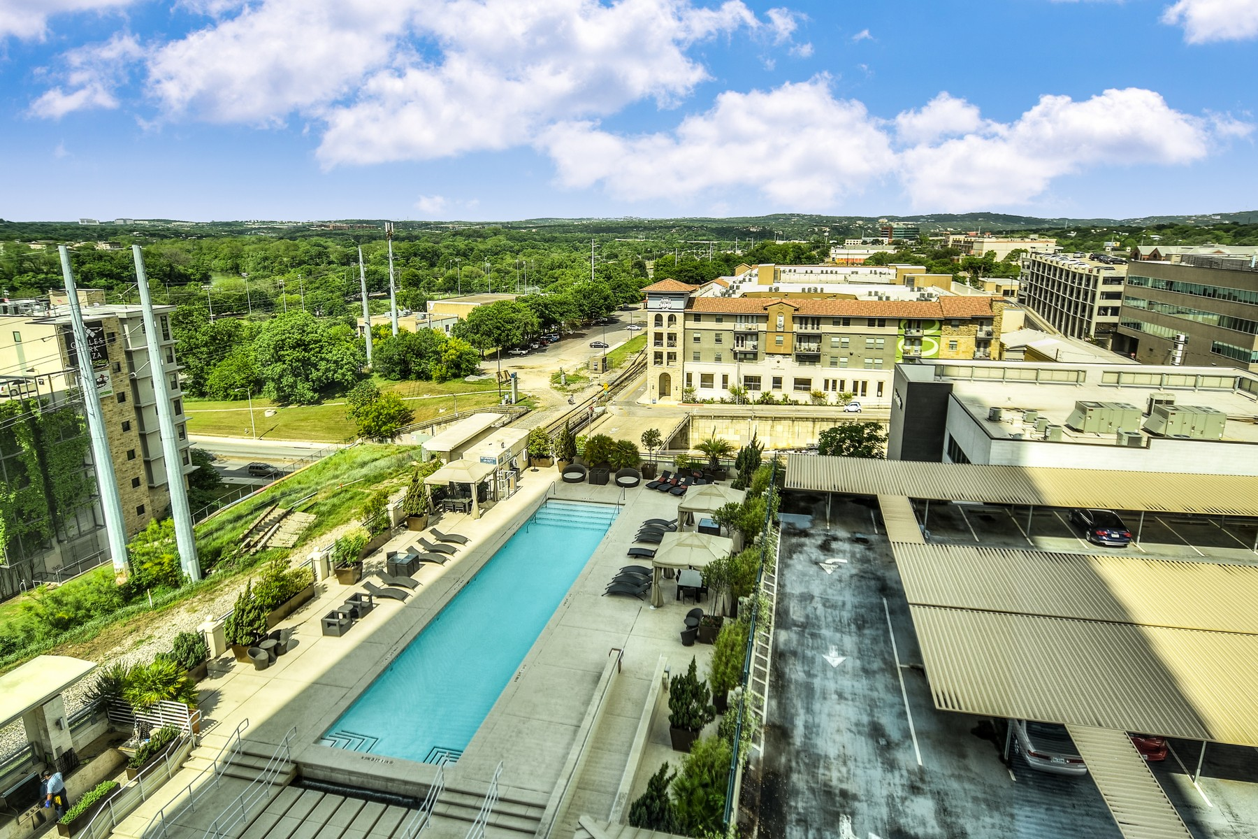 Condominium for Sale at Wonderful Views from 10th Floor Spring Condo 300 Bowie St 1007 Austin, Texas 78703 United States