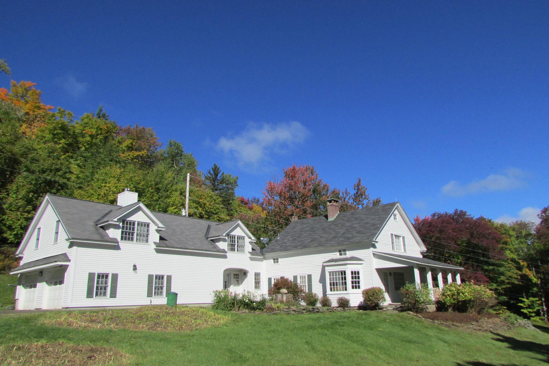 Single Family Home for Sale at Updated Historic Colonial 252 Dover Hill Rd Dover, Vermont, 05341 United States