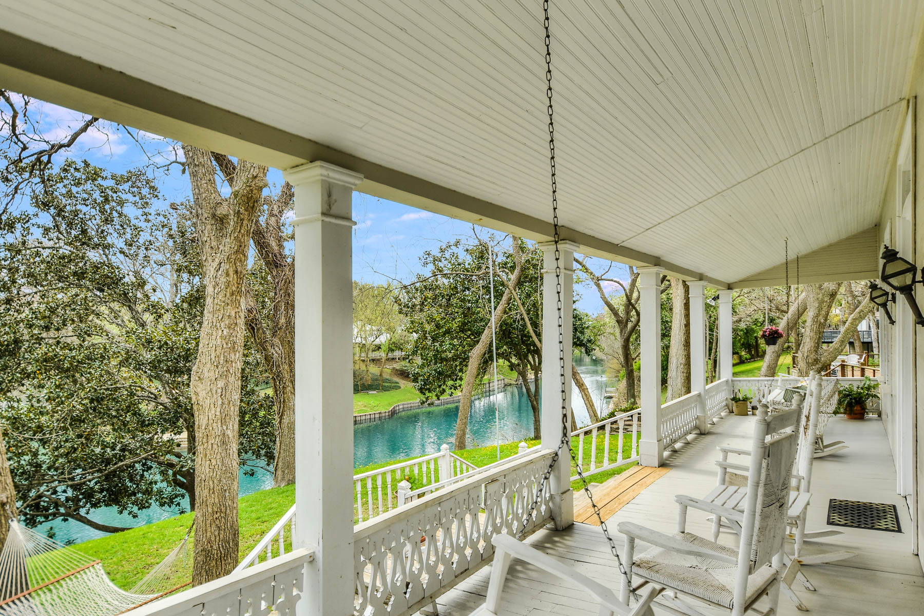 Single Family Home for Sale at Exclusive Address on Comal and Guadalupe Rivers 246 Lincoln New Braunfels, Texas 78130 United States