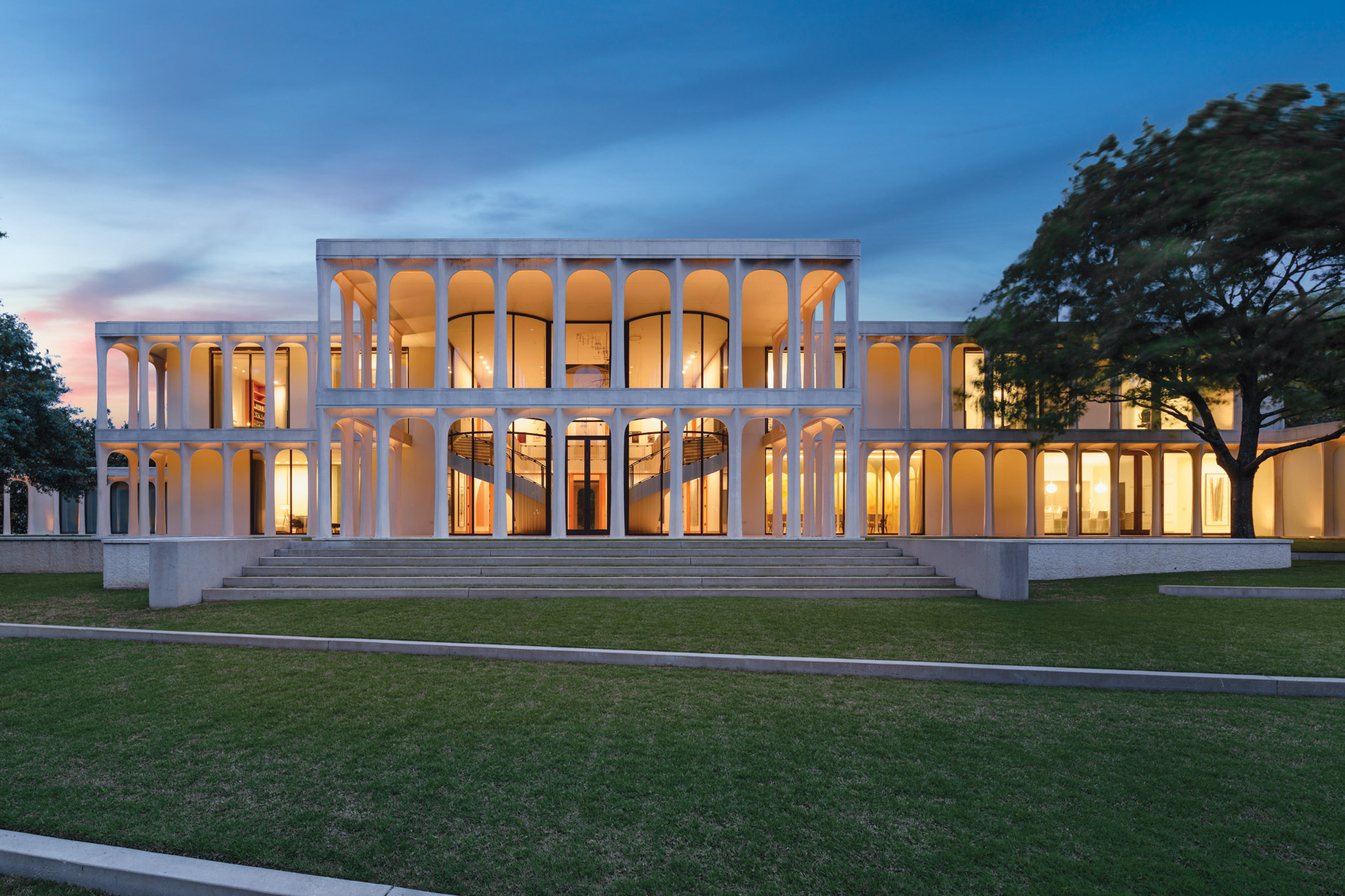 Casa Unifamiliar por un Venta en Philip Johnson Masterpiece 10210 Strait Lane Dallas, Texas 75229 Estados Unidos