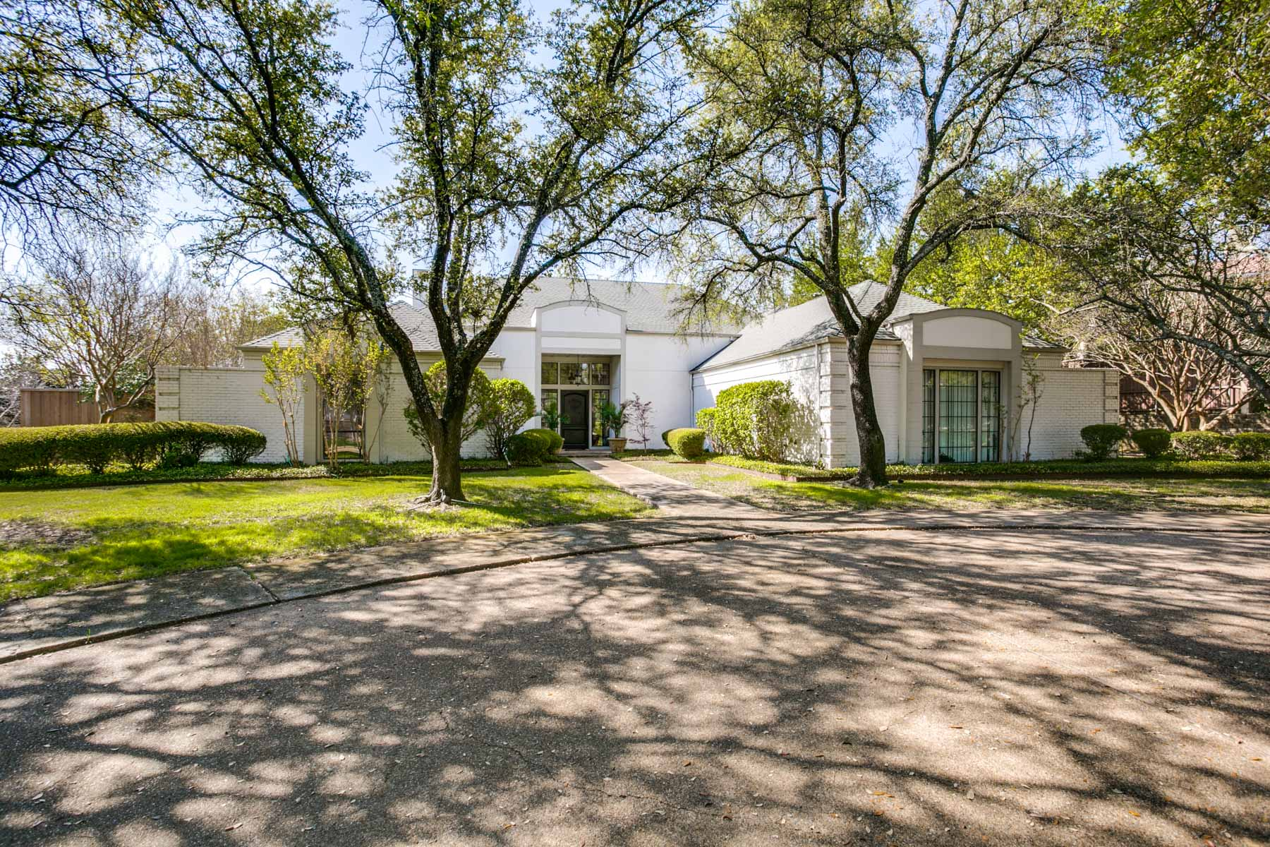sales property at French Inspired Home on .85 of an Acre