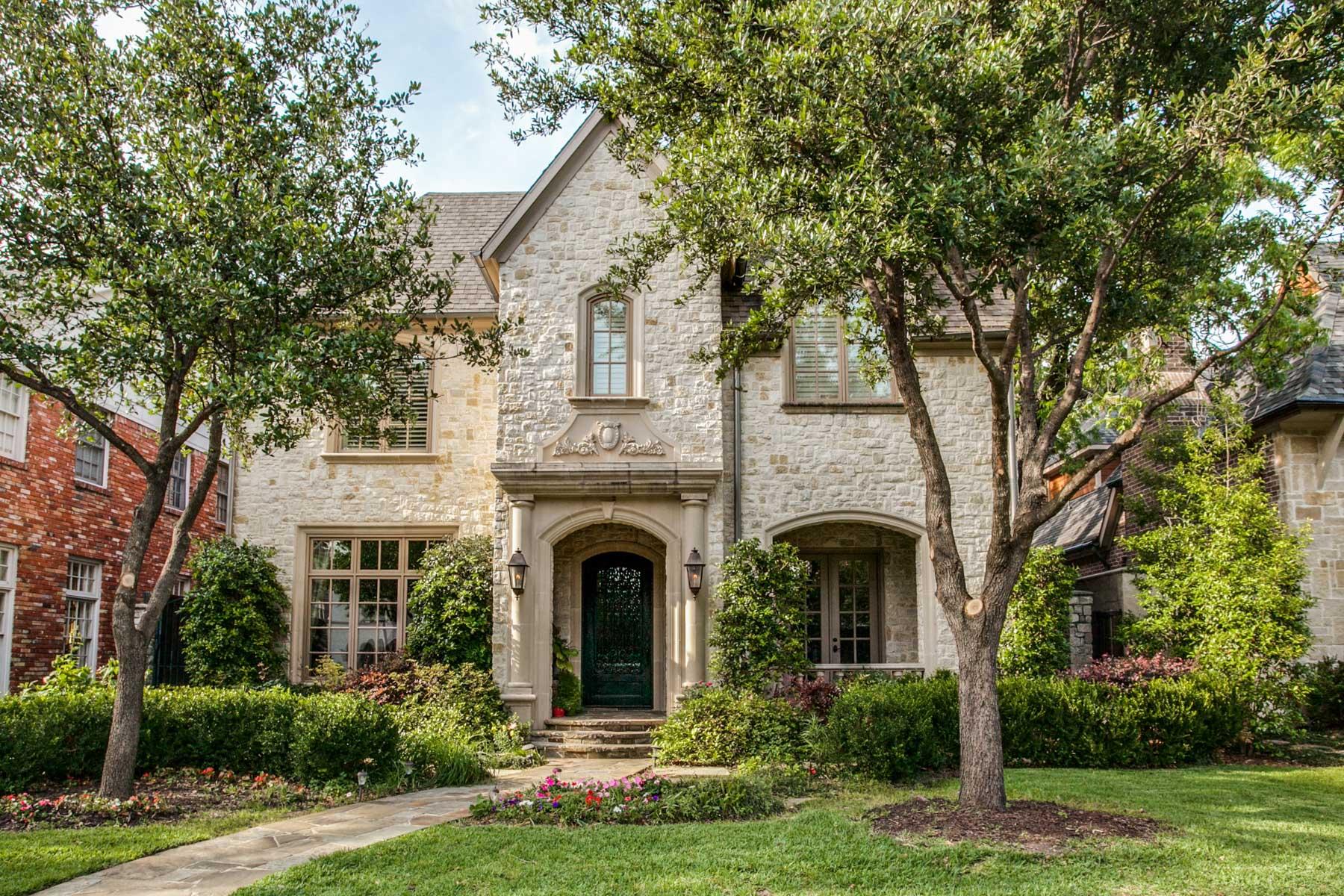 Maison unifamiliale pour l Vente à 2005 Custom Built Highland Park Traditional 3624 Shenandoah St Dallas, Texas, 75205 États-Unis