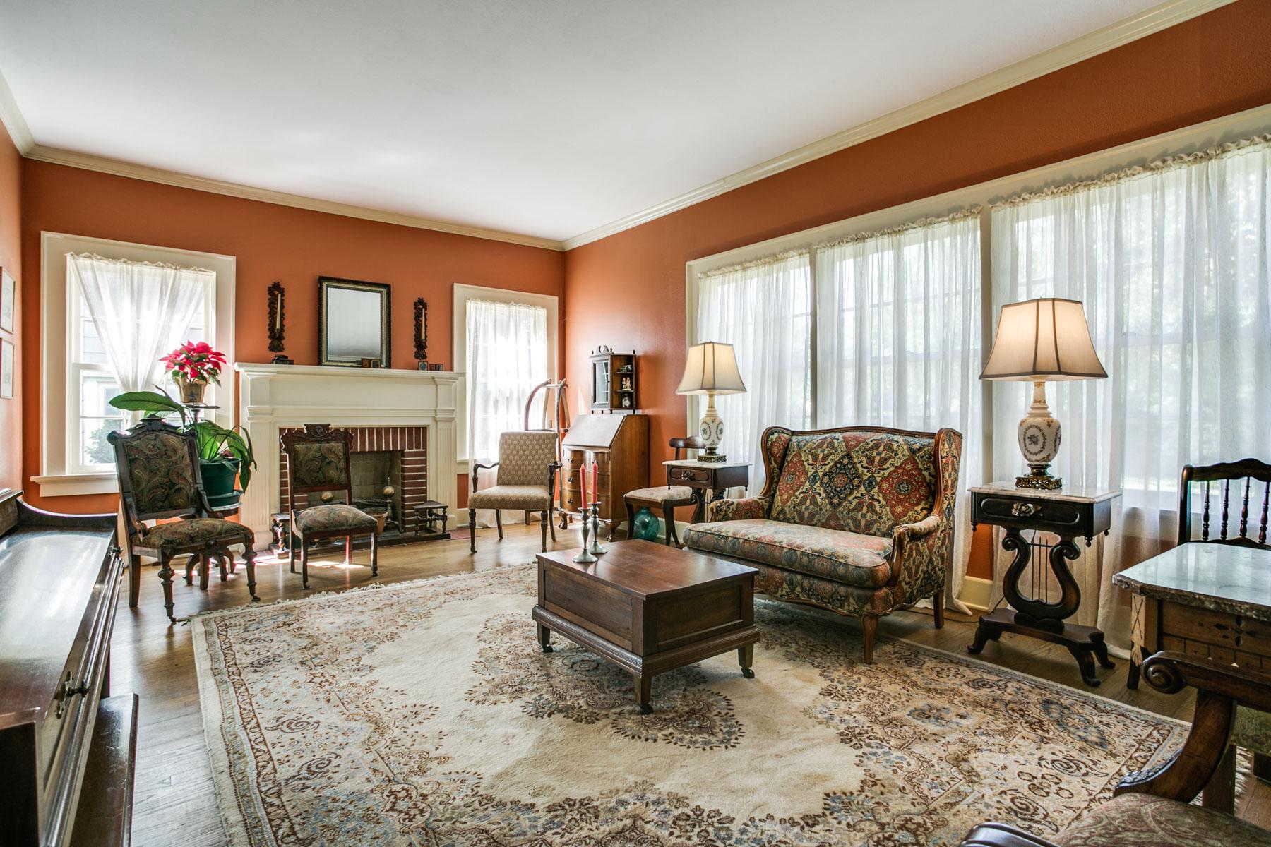 Частный односемейный дом для того Продажа на 3417 Mockingbird Ln, Dallas Dallas, Техас, 75205 Соединенные Штаты