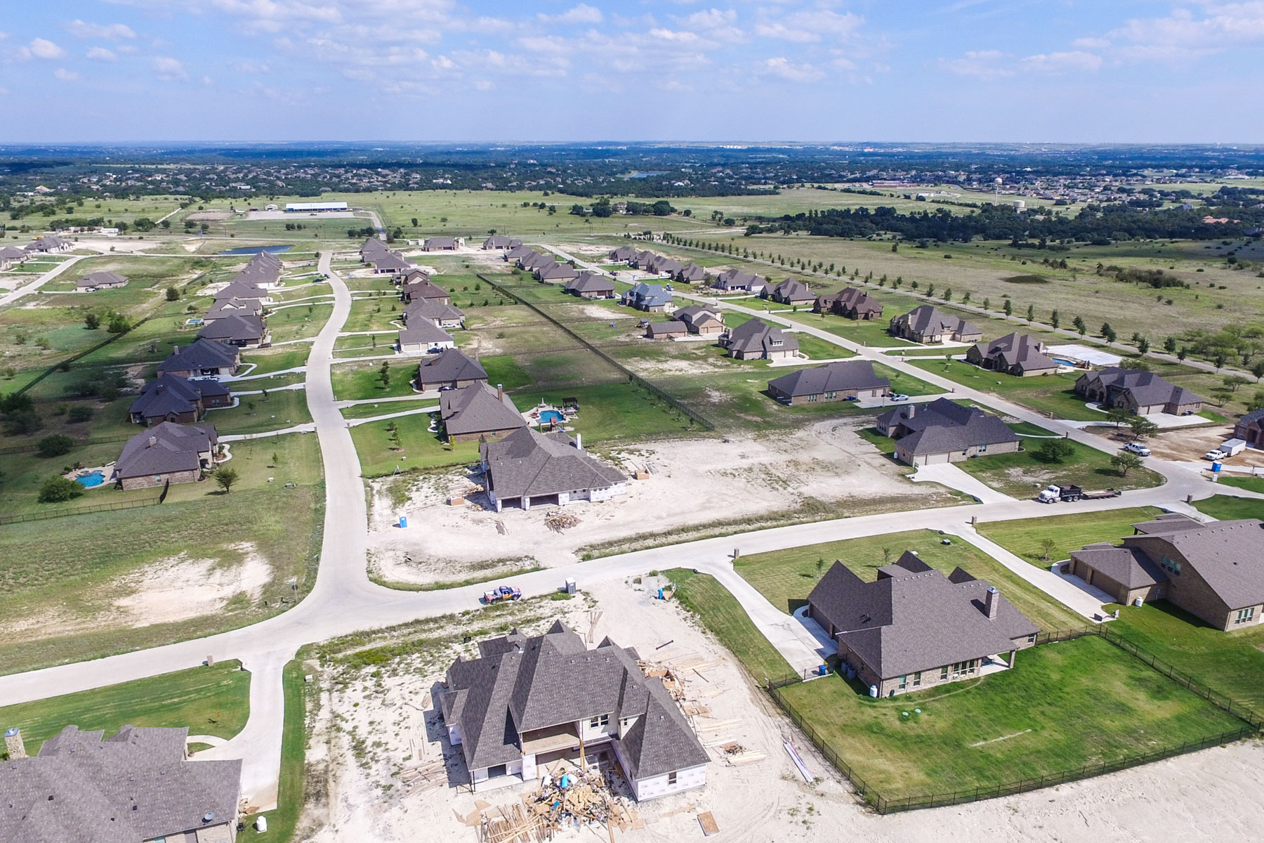 Single Family Home for Sale at Claire Vista Subdivision 155 Bearclaw Cir Aledo, Texas 76008 United States