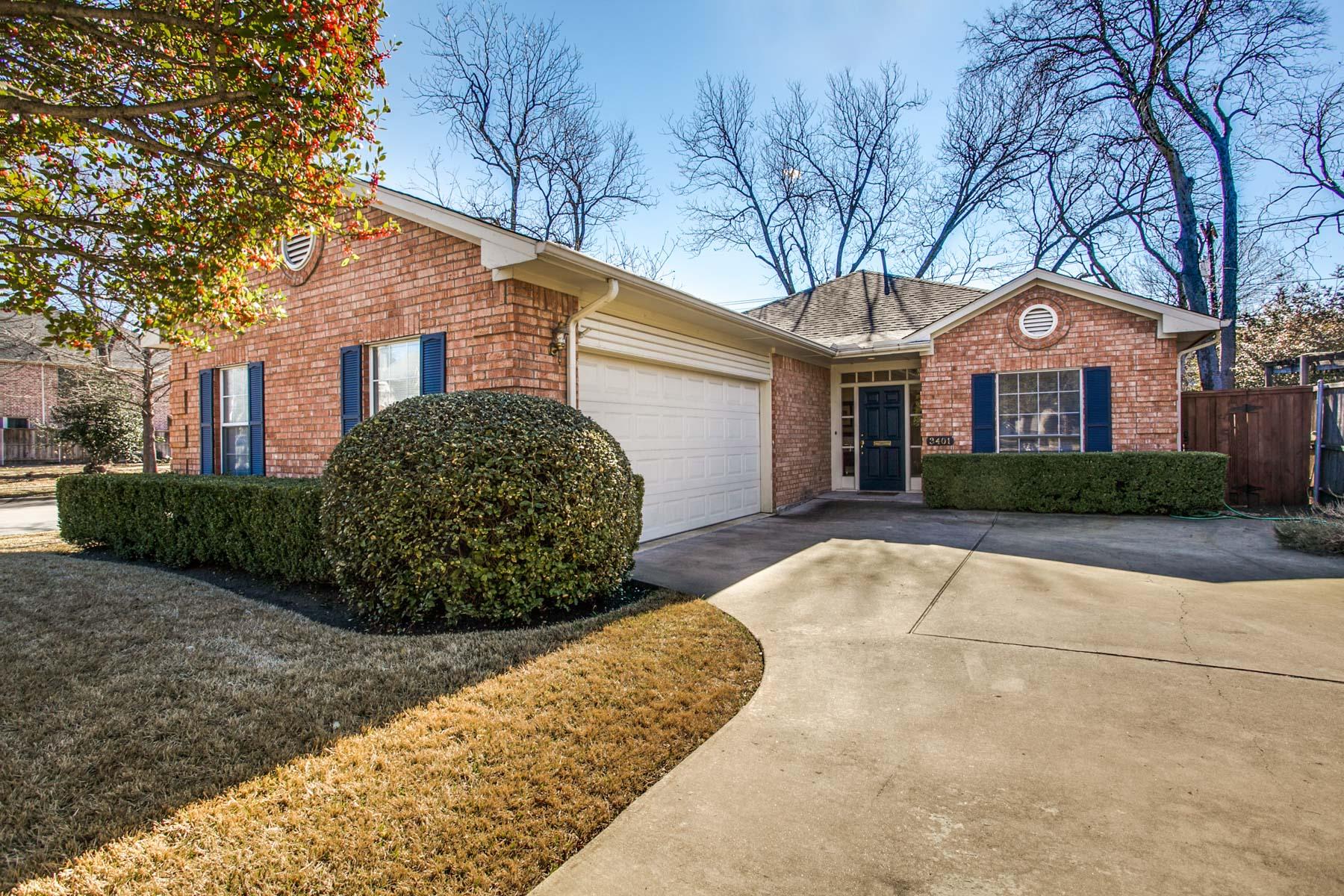 Maison unifamiliale pour l Vente à 3401 Amherst Ave, Dallas Dallas, Texas, 75225 États-Unis