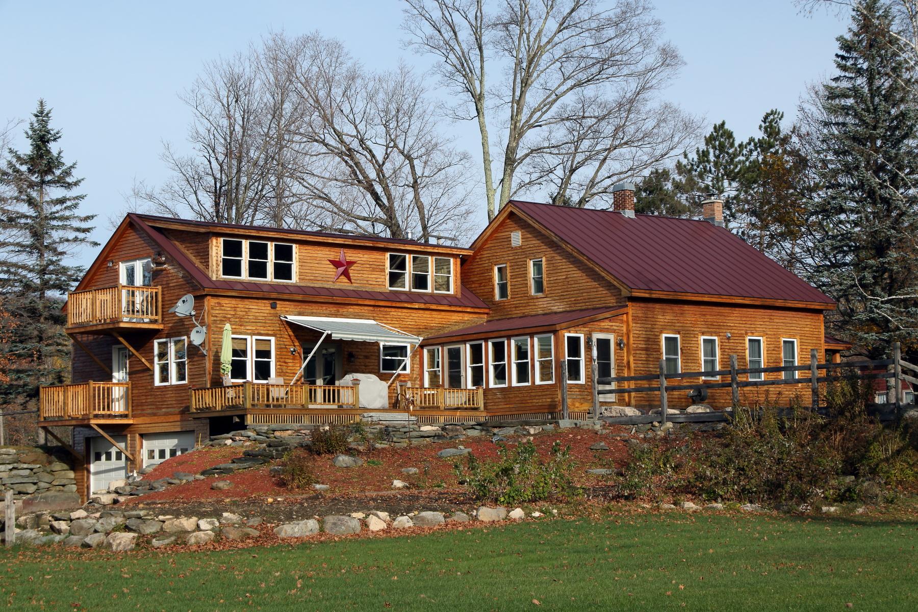 Maison unifamiliale pour l Vente à 198 River Rd, Underhill Underhill, Vermont, 05489 États-Unis