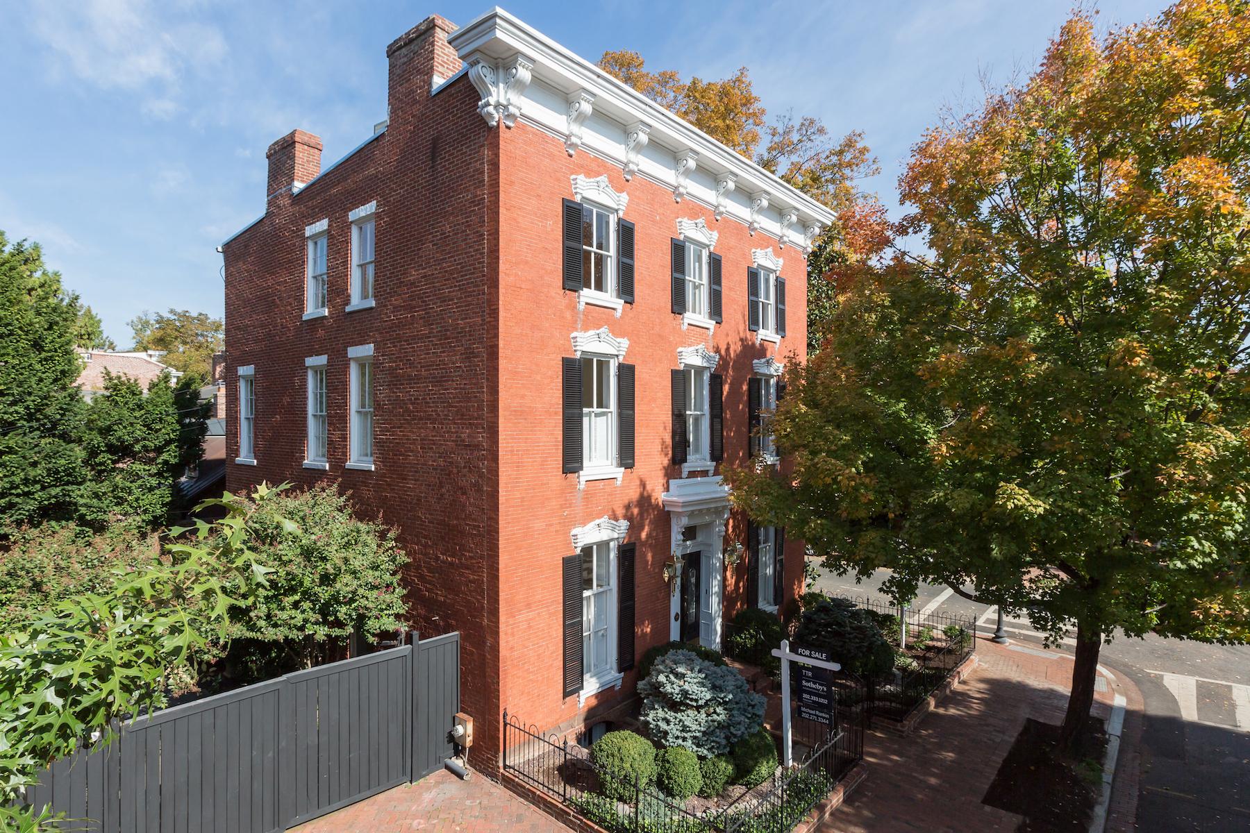 Maison unifamiliale pour l Vente à Georgetown 3401 N Street Nw Georgetown, Washington, District De Columbia, 20007 États-Unis
