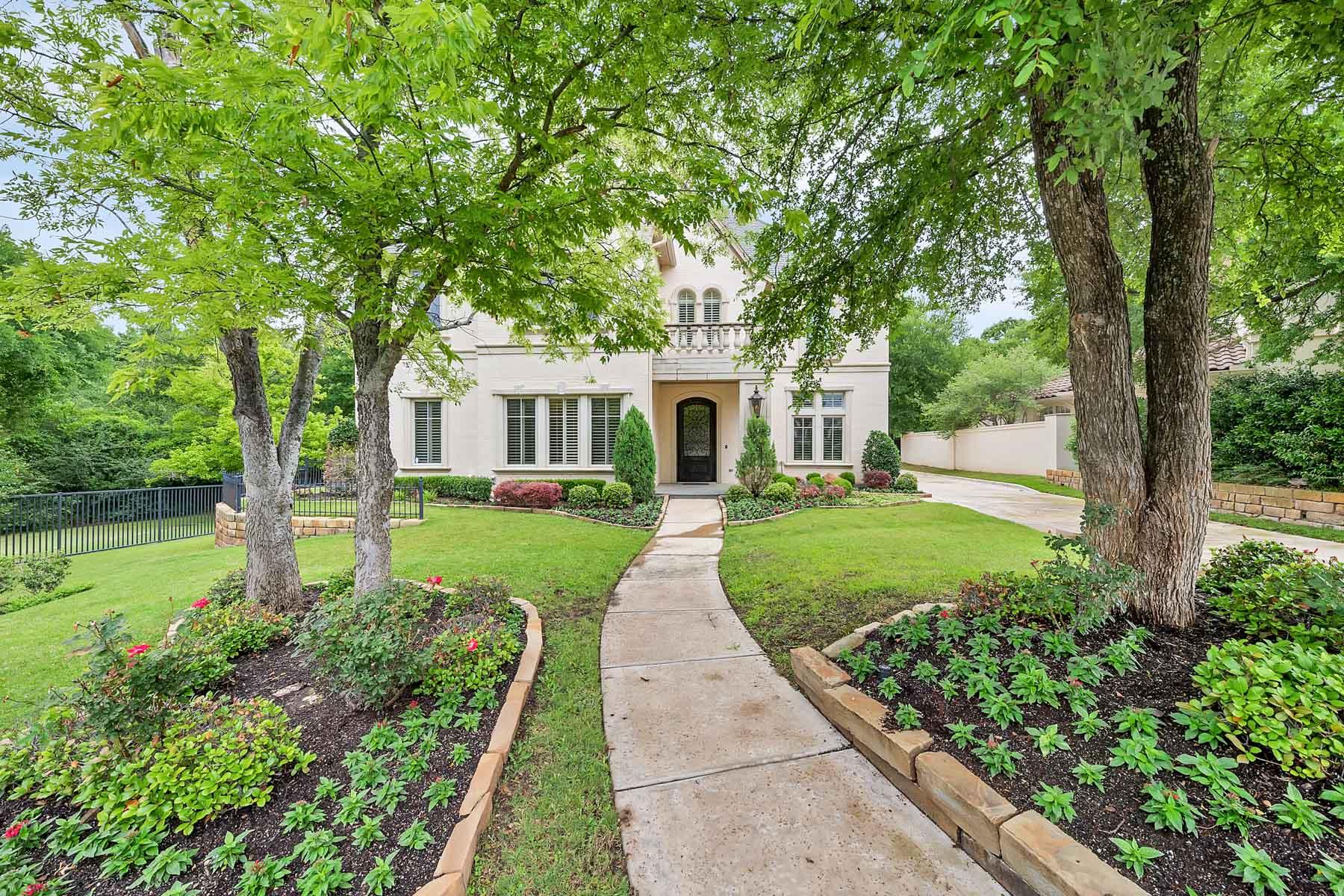 단독 가정 주택 용 매매 에 1501 Rivercrest Court, Fort Worth 1501 Rivercrest Ct Fort Worth, 텍사스, 76107 미국