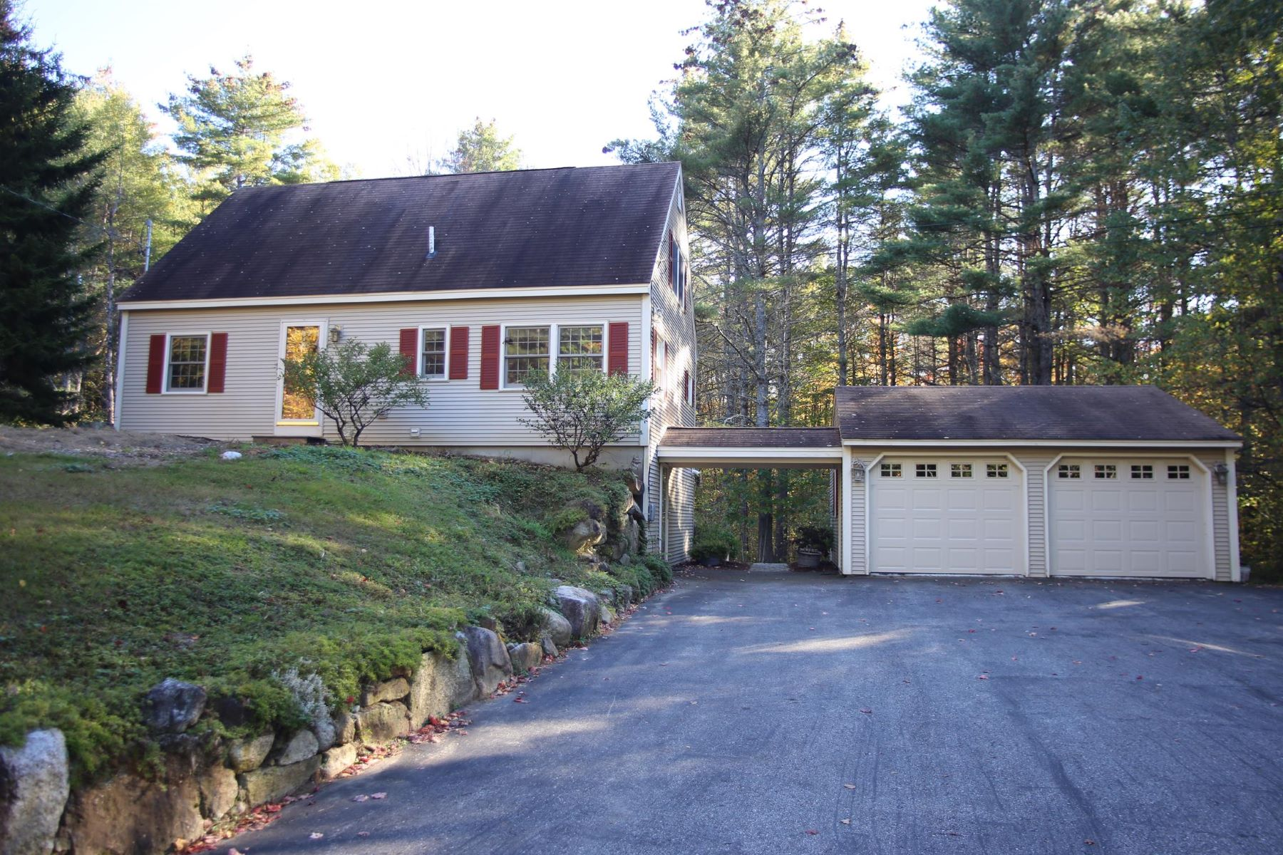 Single Family Home for Sale at Nice Cape with Brook Frontage 46 Kearsarge Mountain, Wilmot, New Hampshire, 03287 United States