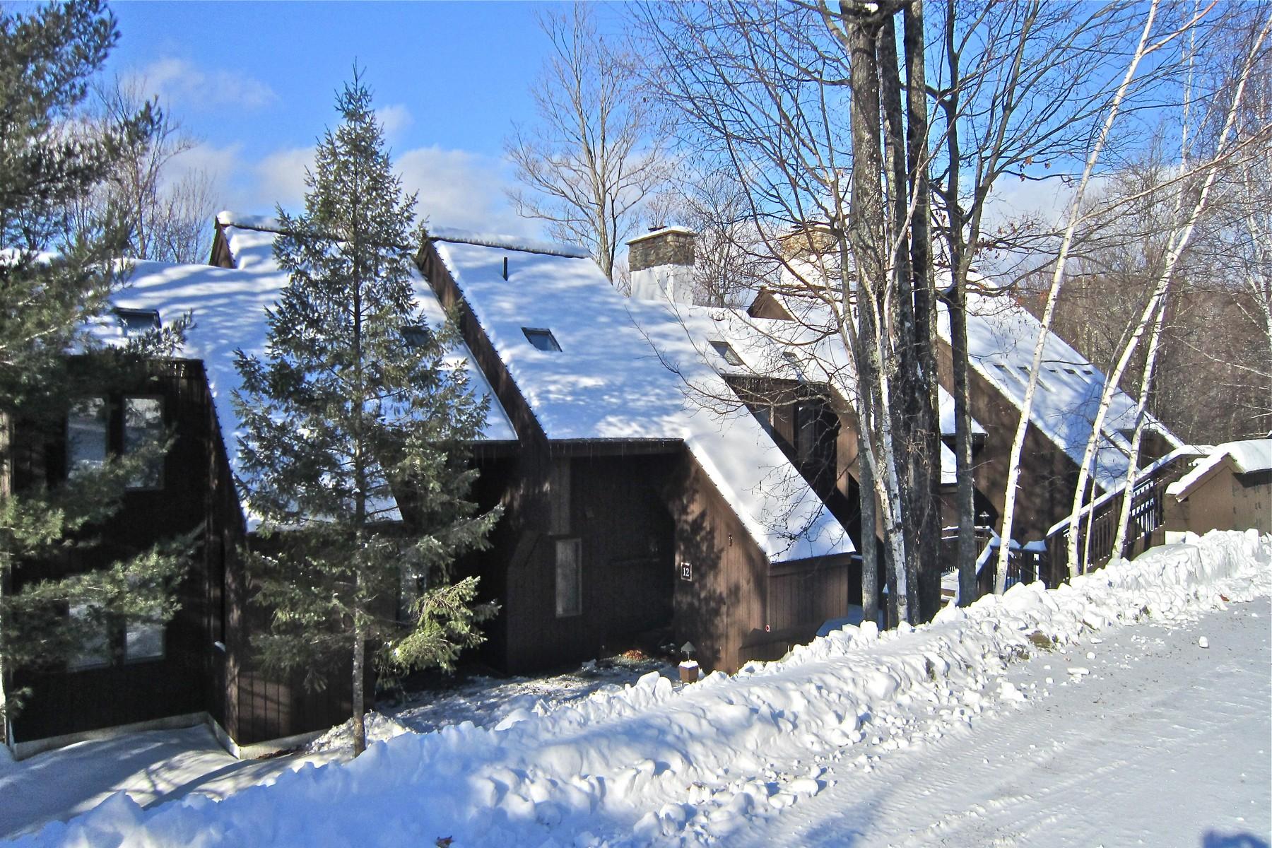 共管式独立产权公寓 为 销售 在 Rare 5 Bedroom, 4 Bath Townhouse at Hawk 894 East Ash Rd 13 普利茅斯, 佛蒙特州, 05056 美国