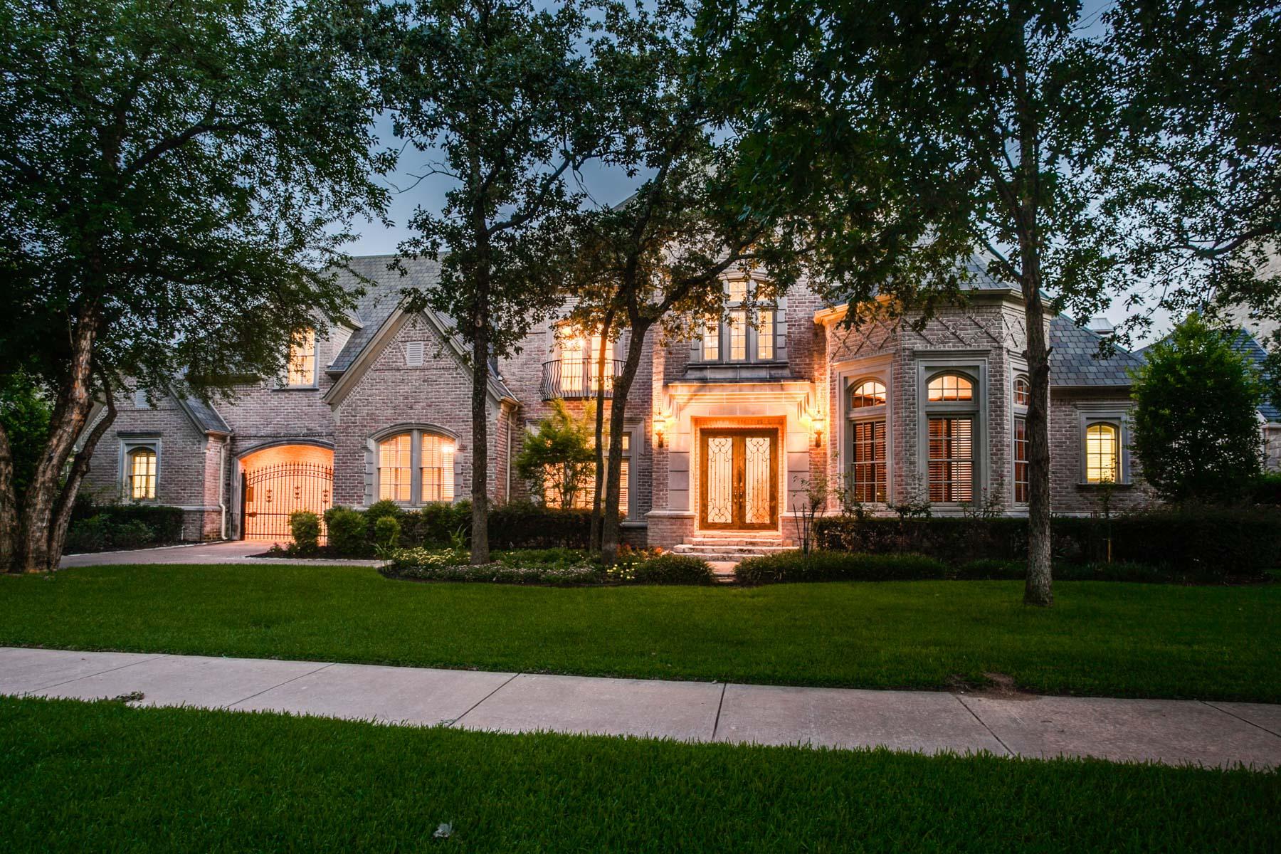 Частный односемейный дом для того Продажа на Beautiful Leyton Grove Estate 2301 Carlisle Ave Colleyville, Техас, 76034 Соединенные Штаты