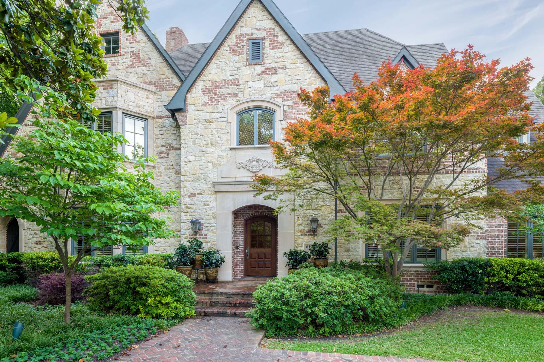 Single Family Home for Sale at Privacy in Preston Hollow 6122 Desco Dr Dallas, Texas, 75225 United States