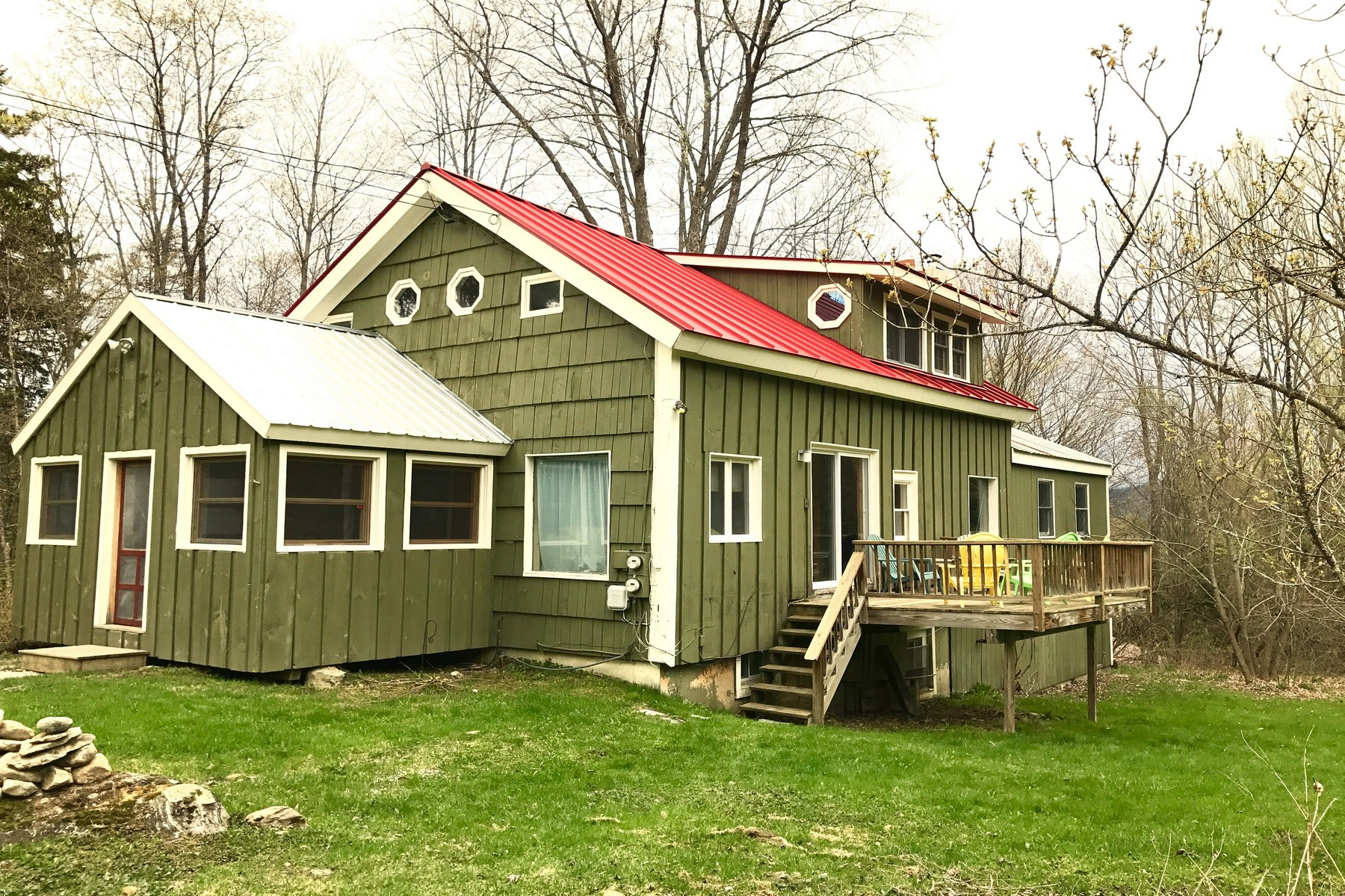 Single Family Home for Sale at Rustic Cape - Close to All 188 Sugarbush Rd Londonderry, Vermont, 05148 United States