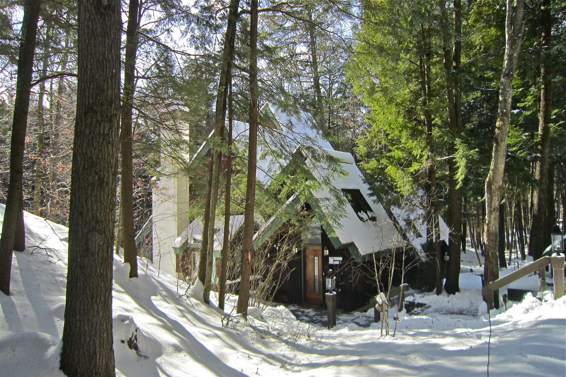 独户住宅 为 销售 在 Tucked in the Woods 469 Salt Ash Rd 普利茅斯, 佛蒙特州, 05056 美国