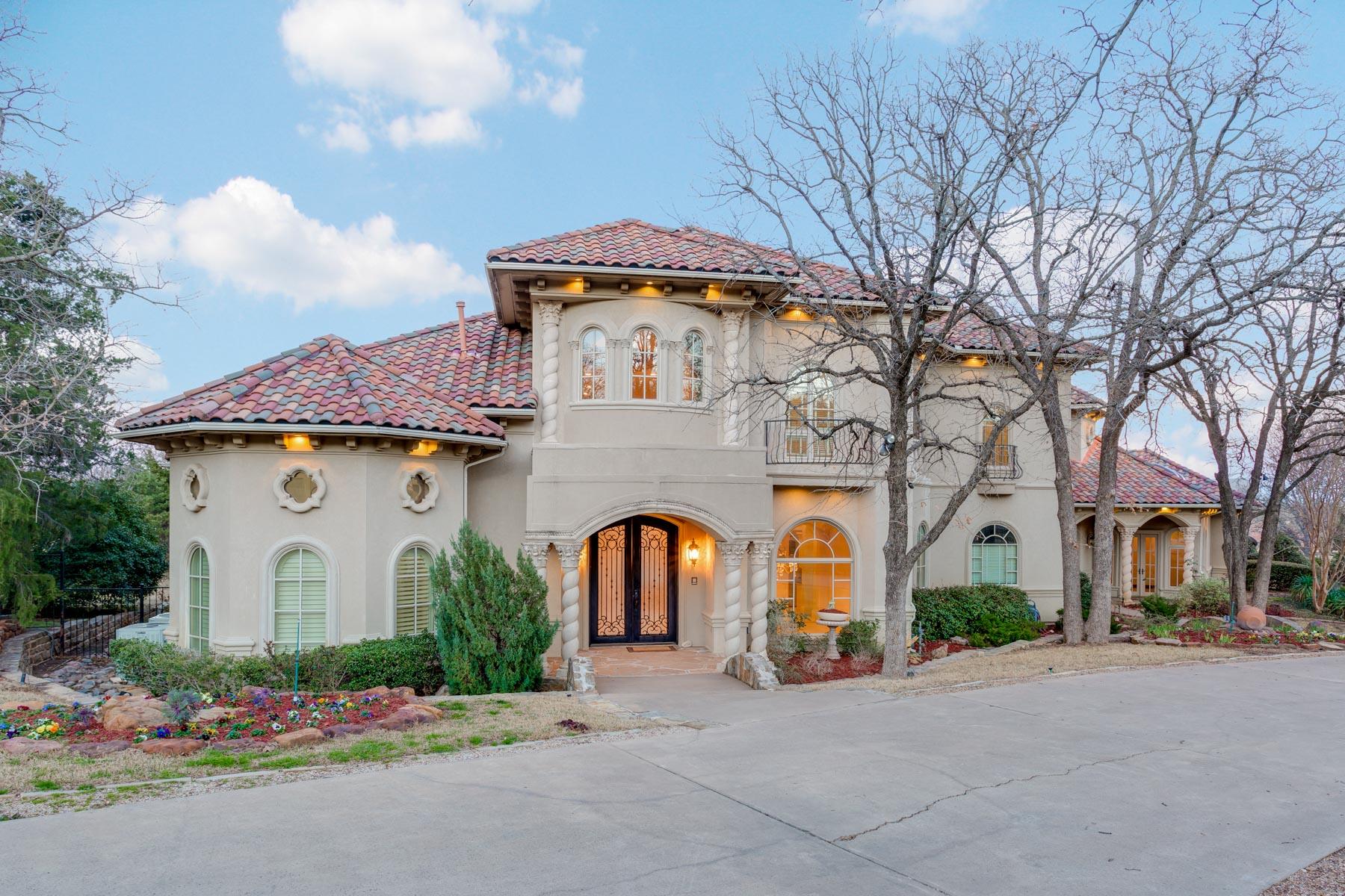一戸建て のために 売買 アット Tuscany of Westlake 3060 Dove Rd Westlake, テキサス, 76262 アメリカ合衆国