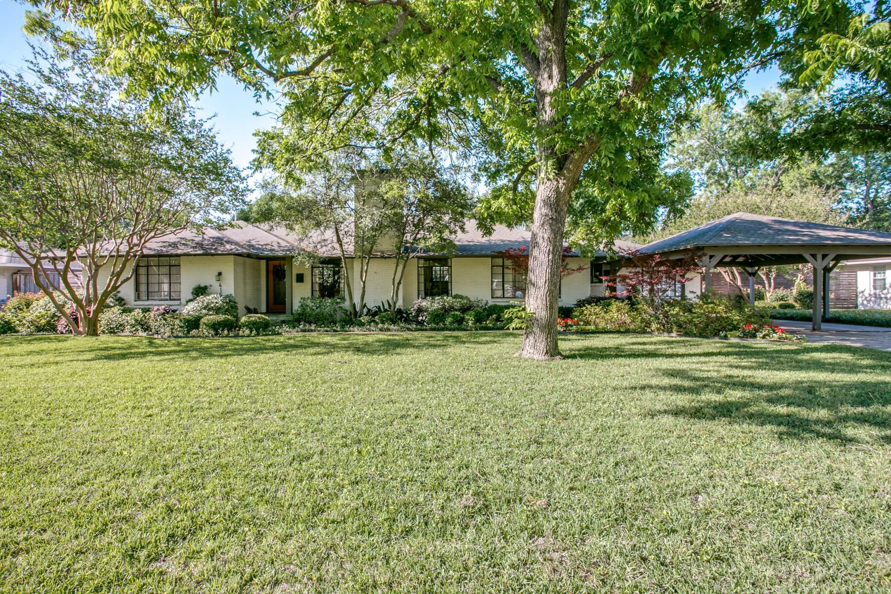 一戸建て のために 売買 アット Midway Hollow 4152 Wilada Dr Dallas, テキサス, 75220 アメリカ合衆国