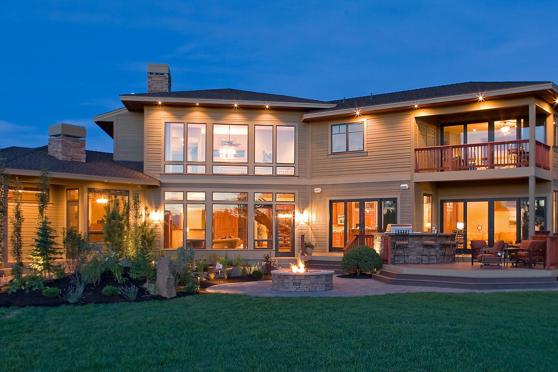 Maison unifamiliale pour l Vente à Sophistication & Style on 10 Acres! 22155 Rickard Rd Bend, Oregon, 97702 États-Unis