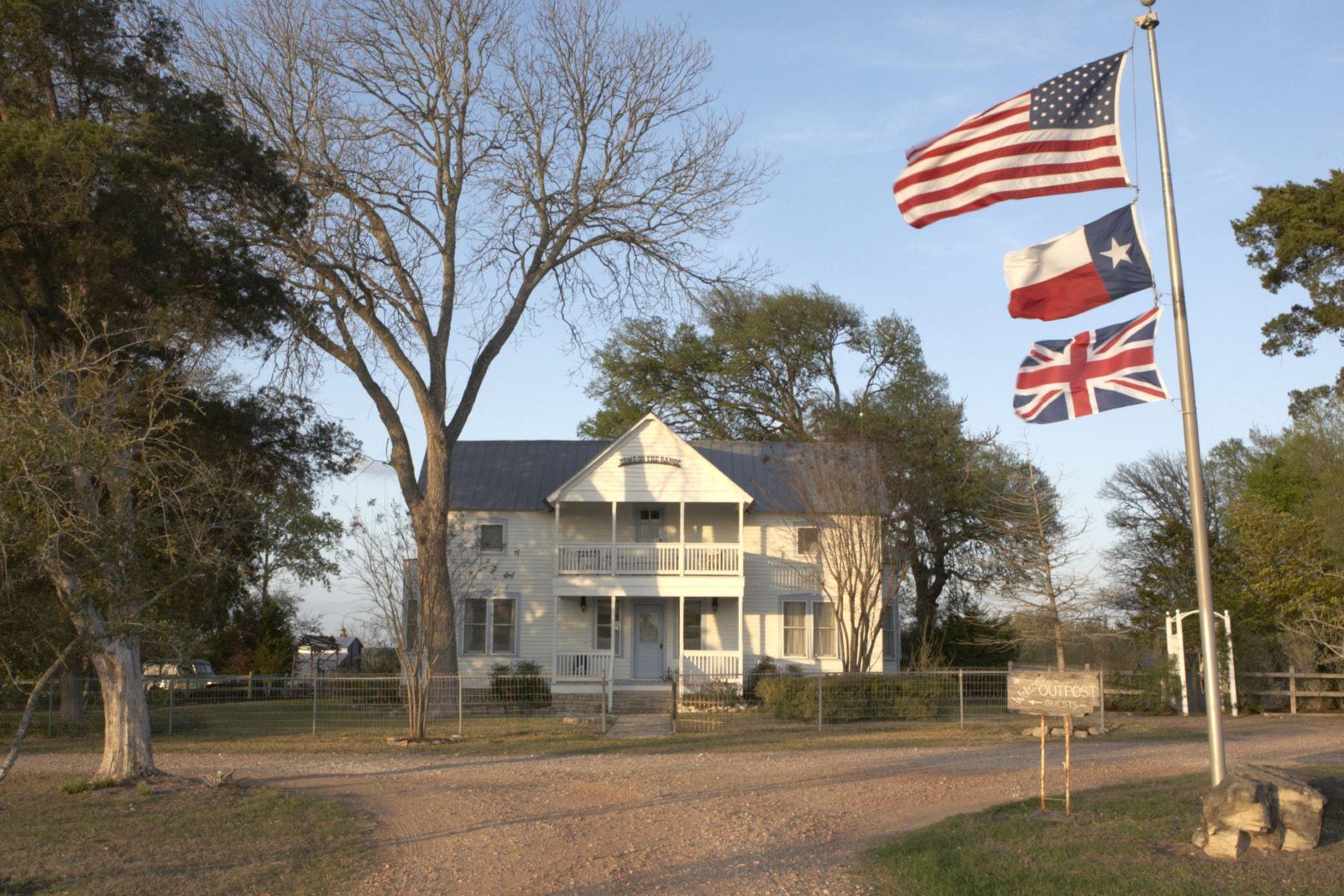 Granjas / Hacienda / Platanción por un Venta en NEW OPPORTUNITY TO OWN A PIECE OF TIMELESS VISION 5808 Wagner Rd Round Top, Texas 78954 Estados Unidos