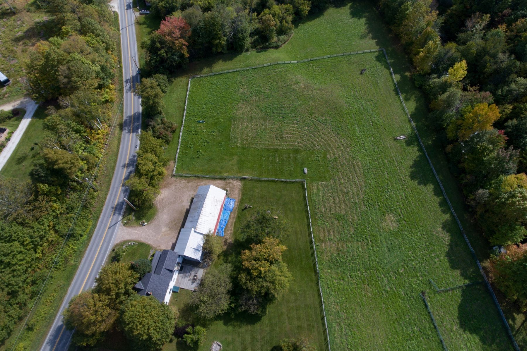 Terreno por un Venta en Prime Building Lot with Viws! 5222 Mount Philo/lot 2 Charlotte, Vermont 05445 Estados Unidos