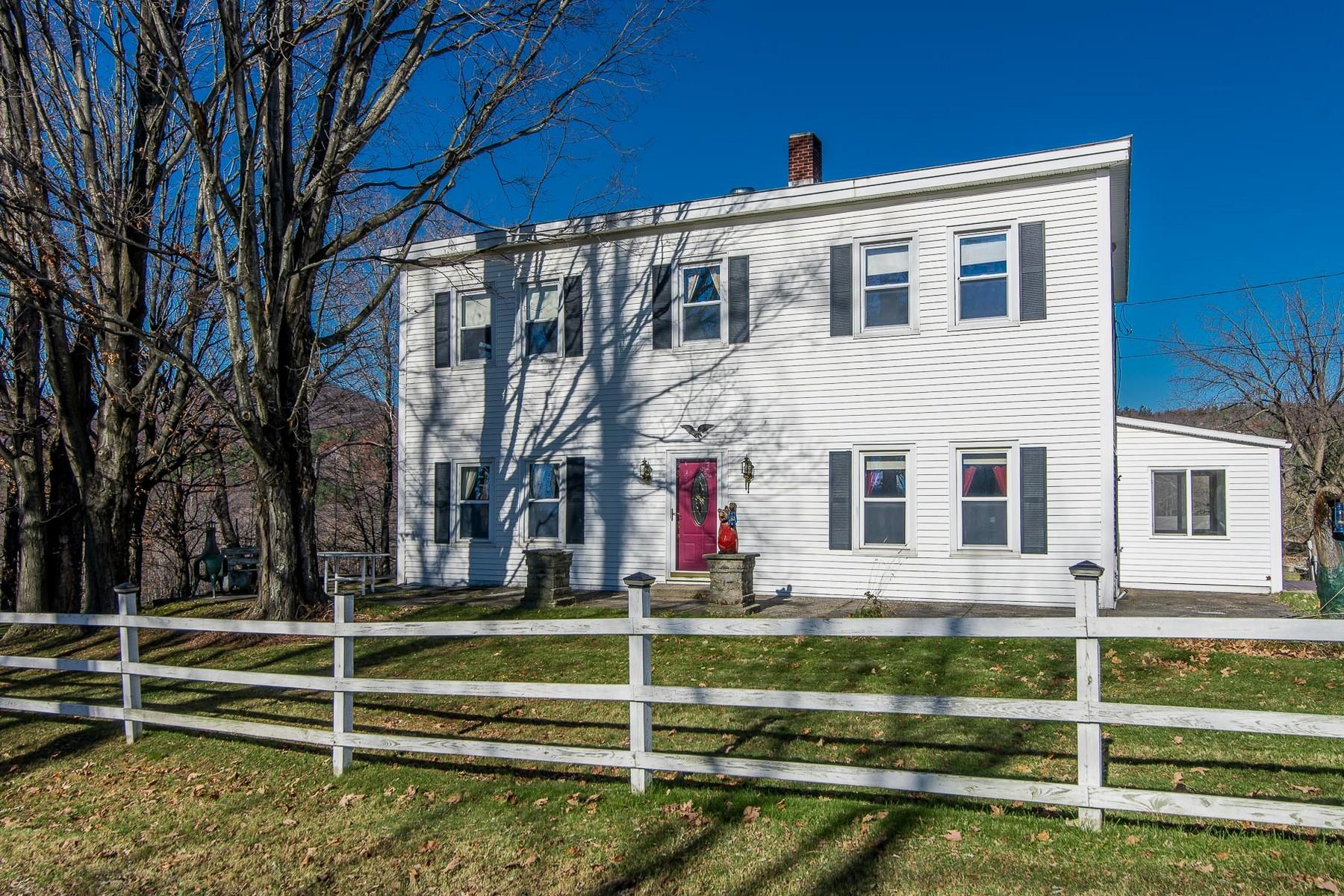 Maison unifamiliale pour l Vente à 1663 Waite Hill, Pawlet Pawlet, Vermont 05761 États-Unis