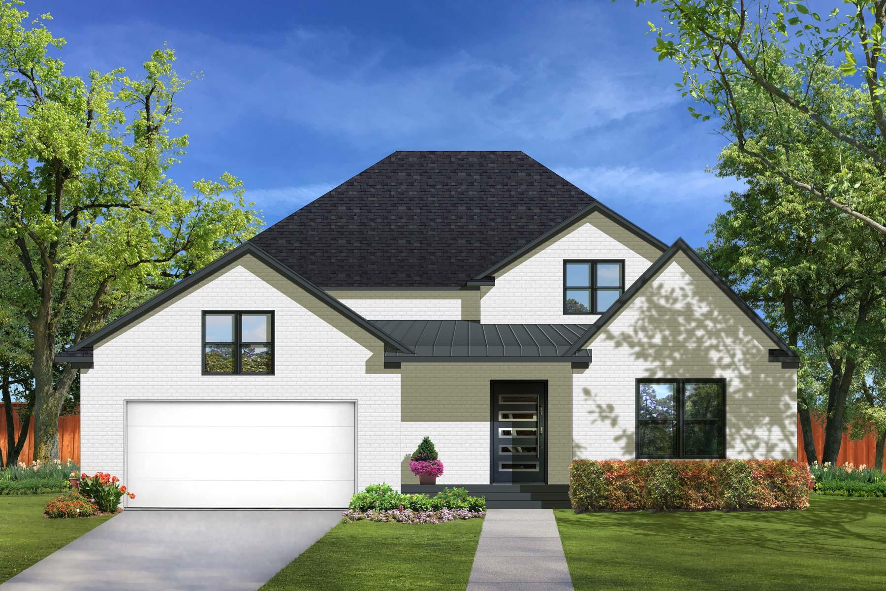 Maison unifamiliale pour l Vente à Stunning Midway Hollow Transitioal 3939 Cortez Dr Dallas, Texas, 75220 États-Unis