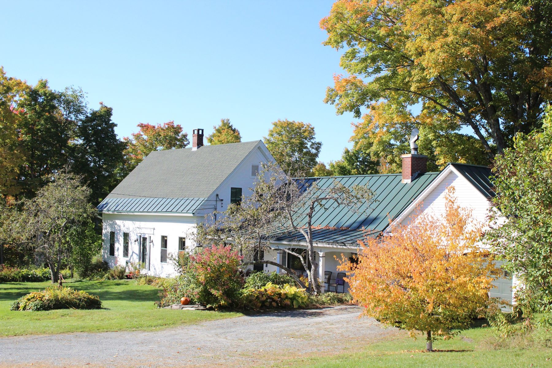 Single Family Home for Sale at Farm has views, orchards, efficiency 2317 North, Barnard, Vermont, 05031 United States