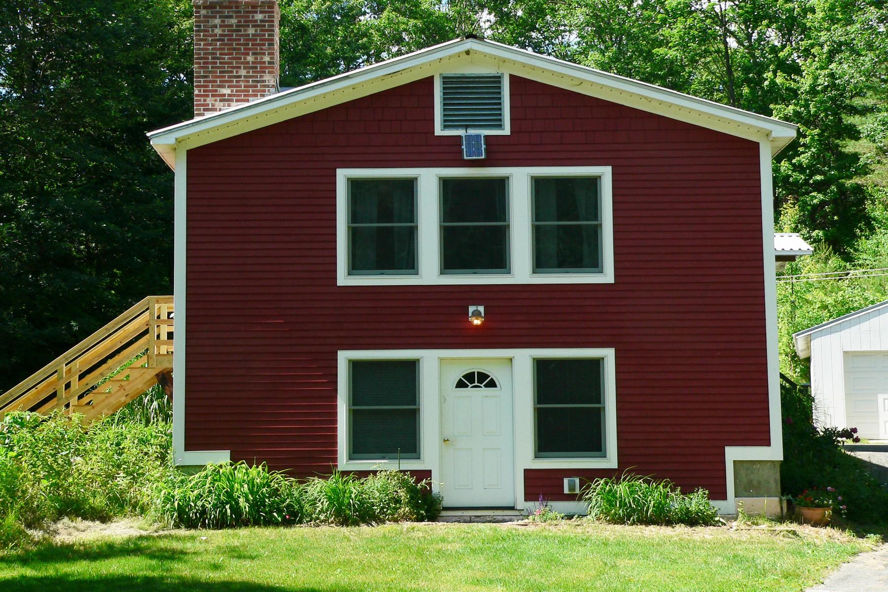 Частный односемейный дом для того Продажа на Mountain Top View 825 Skitchewaug Trail Rd Springfield, Вермонт, 05156 Соединенные Штаты