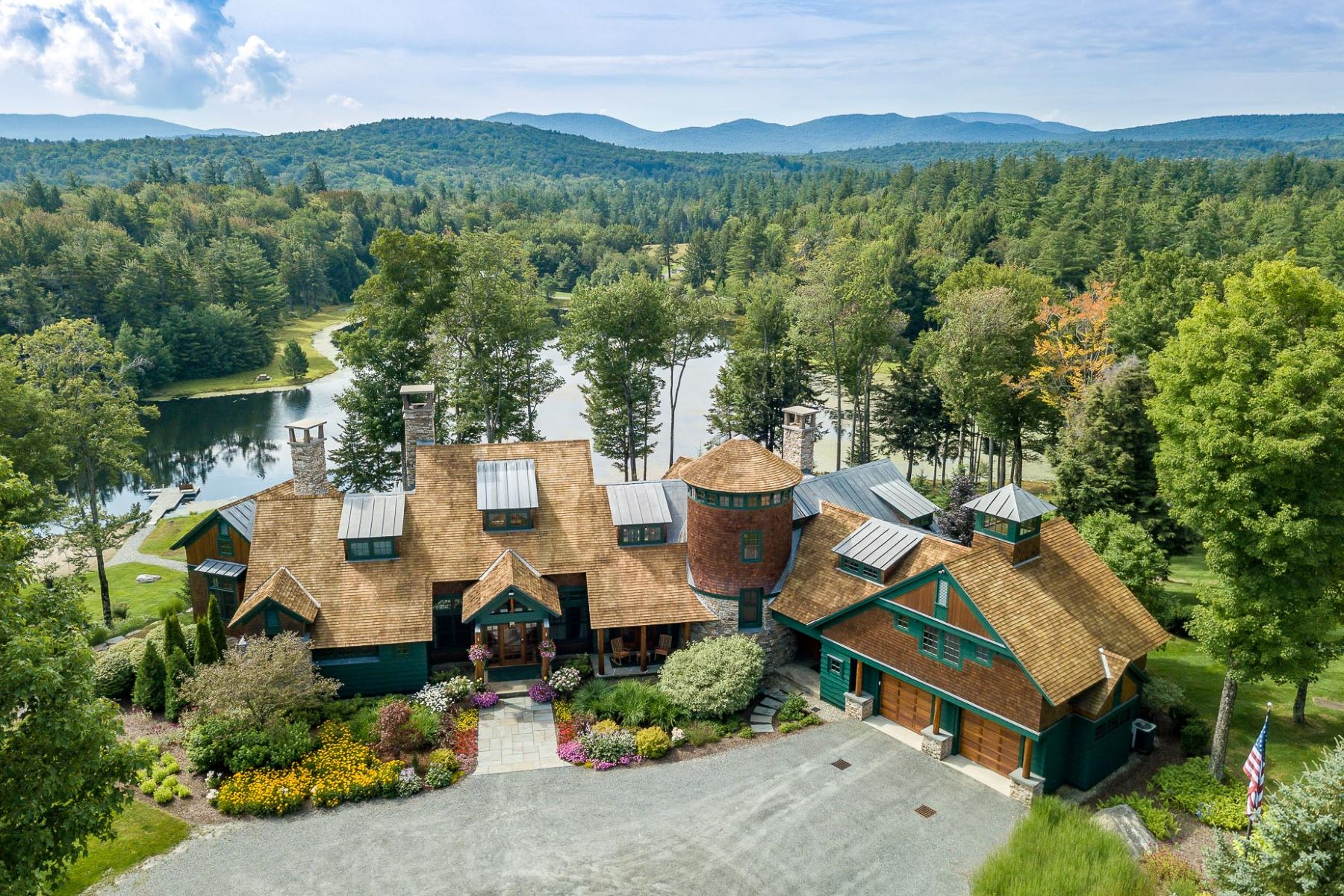 Single Family Home for Sale at 160 Acre Estate in Stratton Vermont 820 Mountain Rd Stratton, Vermont, 05155 United States