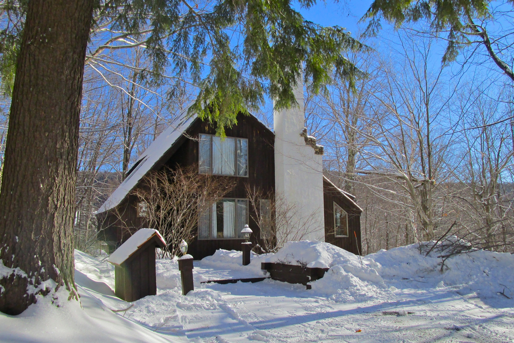 واحد منزل الأسرة للـ Sale في Turnkey Home at Hawk Resort 84 Merlin Way, Plymouth, Vermont, 05056 United States