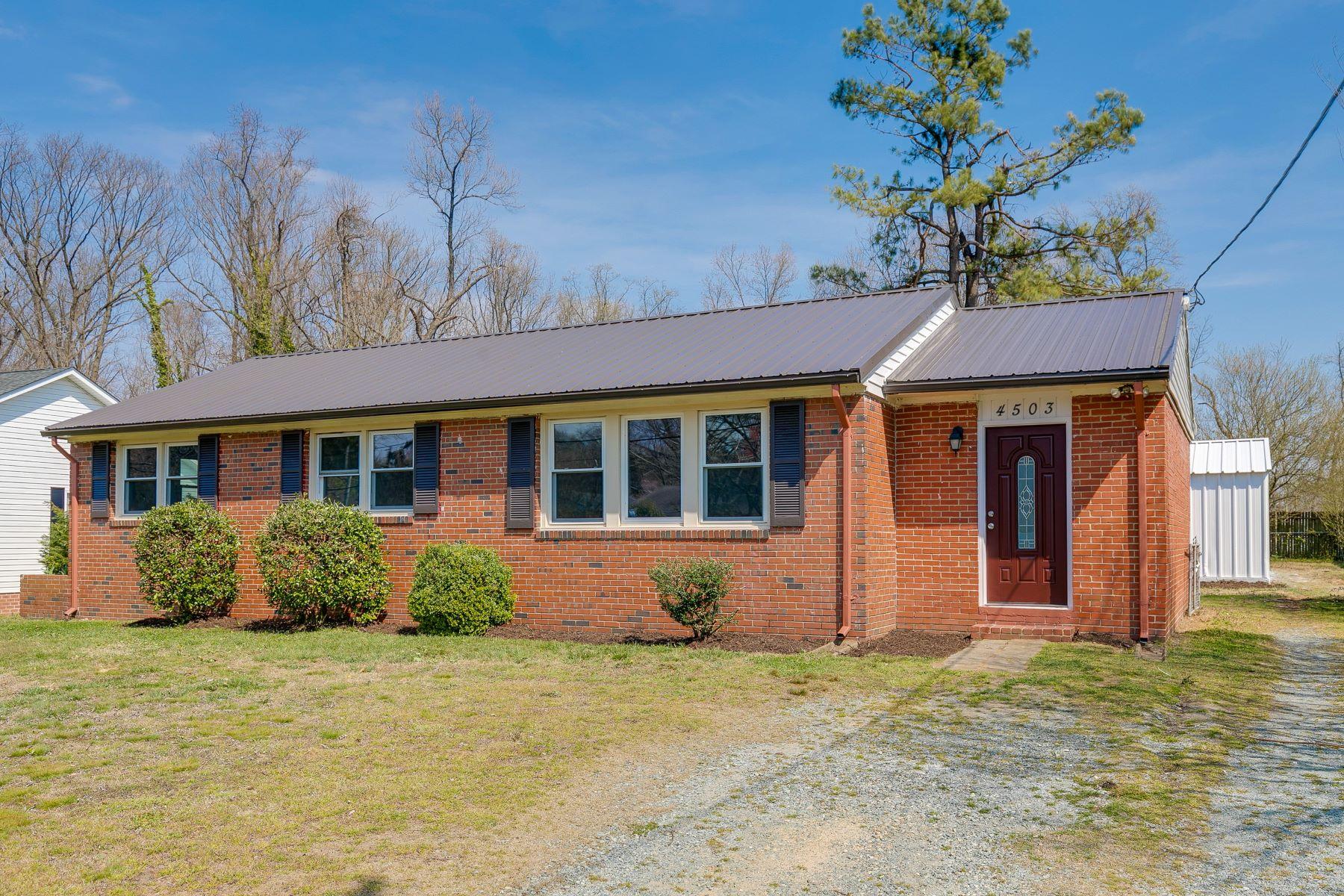 Vivienda unifamiliar por un Venta en 4503 Carpenter Road, Richmond 4503 Carpenter Rd Richmond, Virginia, 23222 Estados Unidos