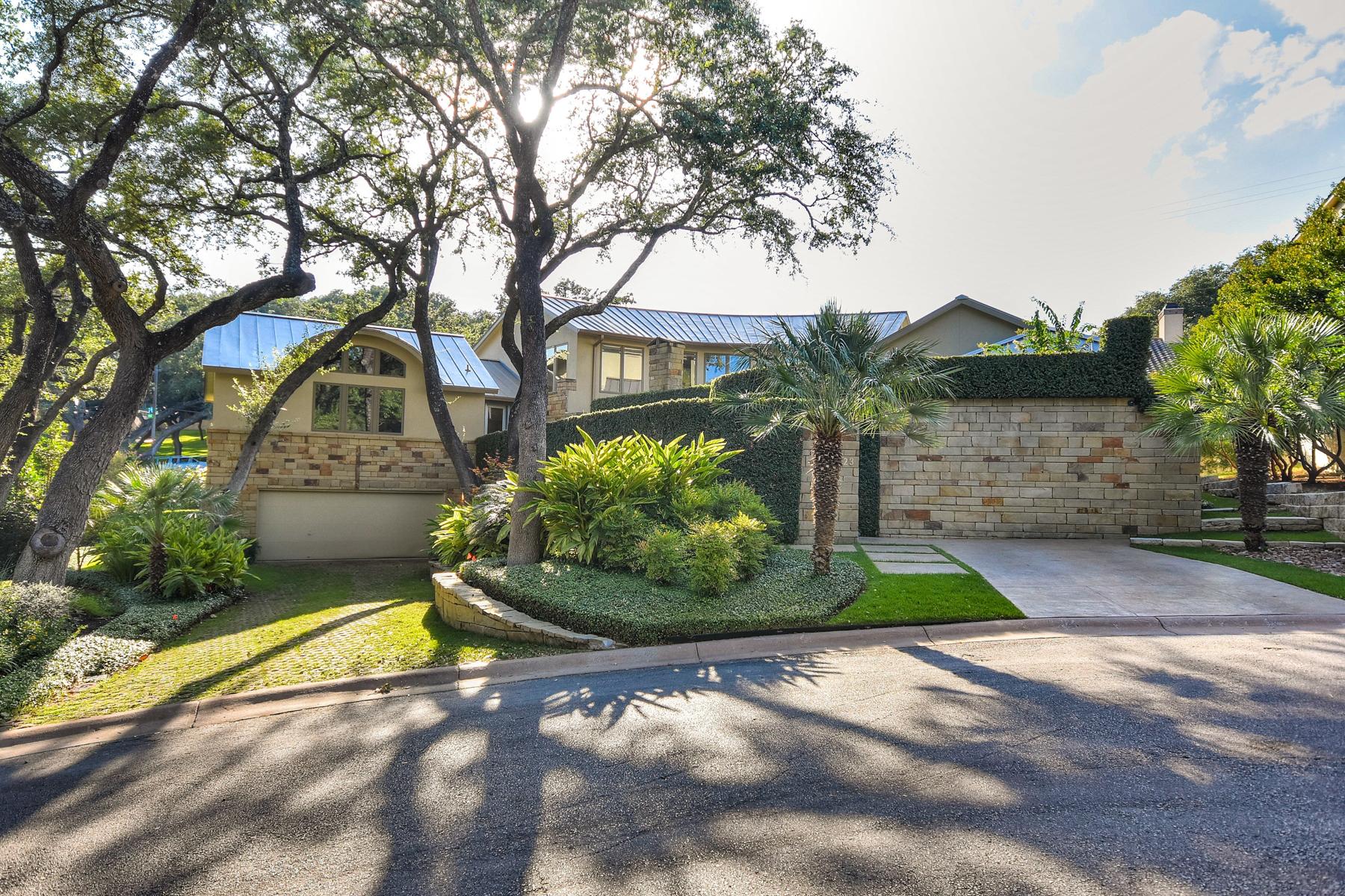 Vivienda unifamiliar por un Venta en Contemporary Masterpiece in Oak Hills Park Estates 23 Oak Hill Pl San Antonio, Texas 78229 Estados Unidos