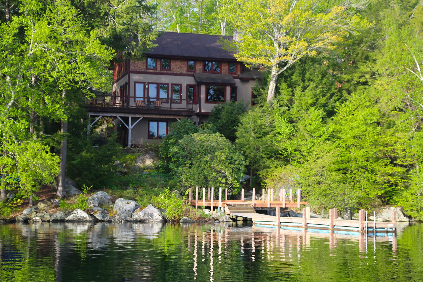 Single Family Home for Sale at 350 Bay Point, Sunapee 350 Bay Pt Sunapee, New Hampshire, 03782 United States