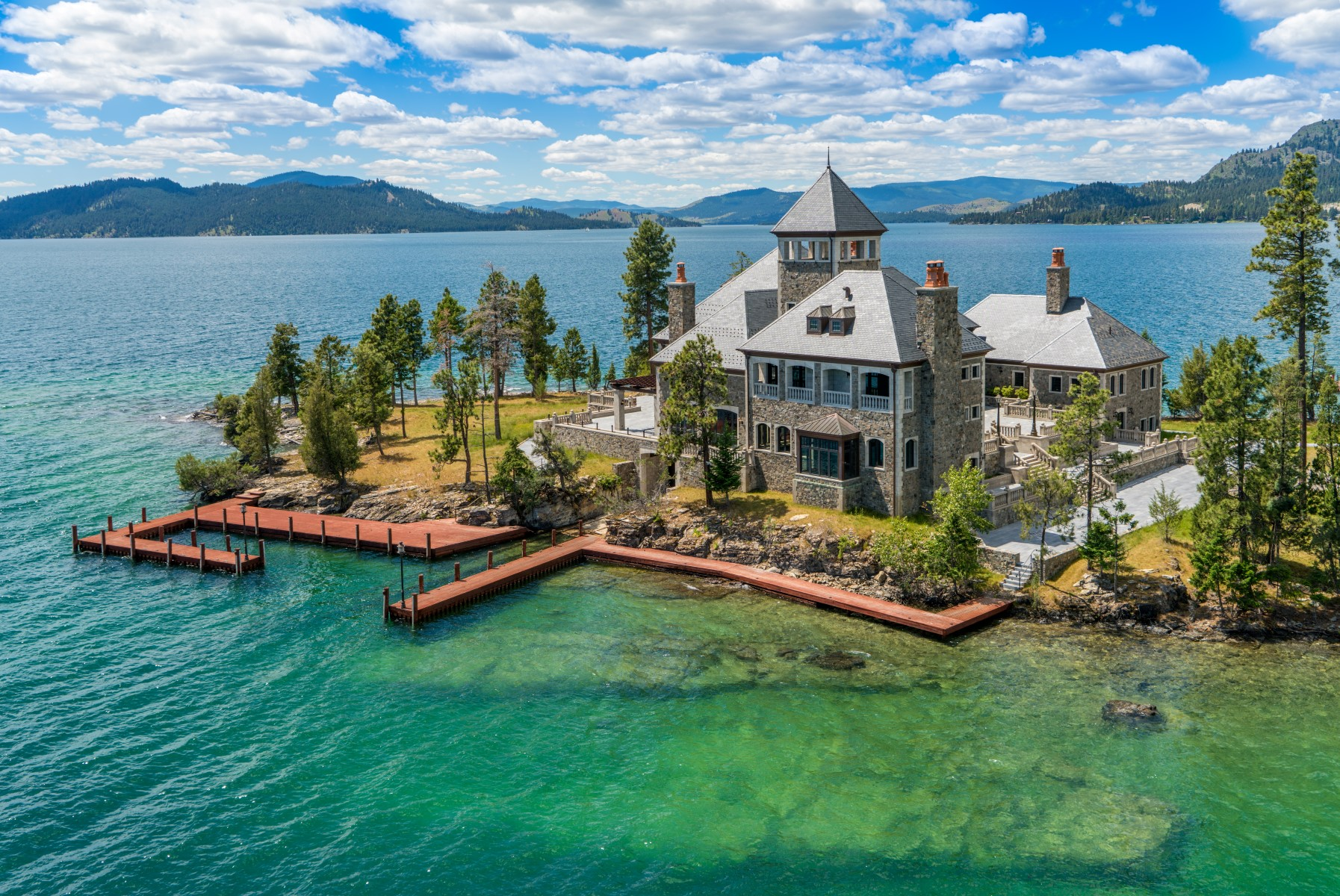 Additional photo for property listing at Montana's Shelter Island Estate  Rollins, Montana 59931 United States