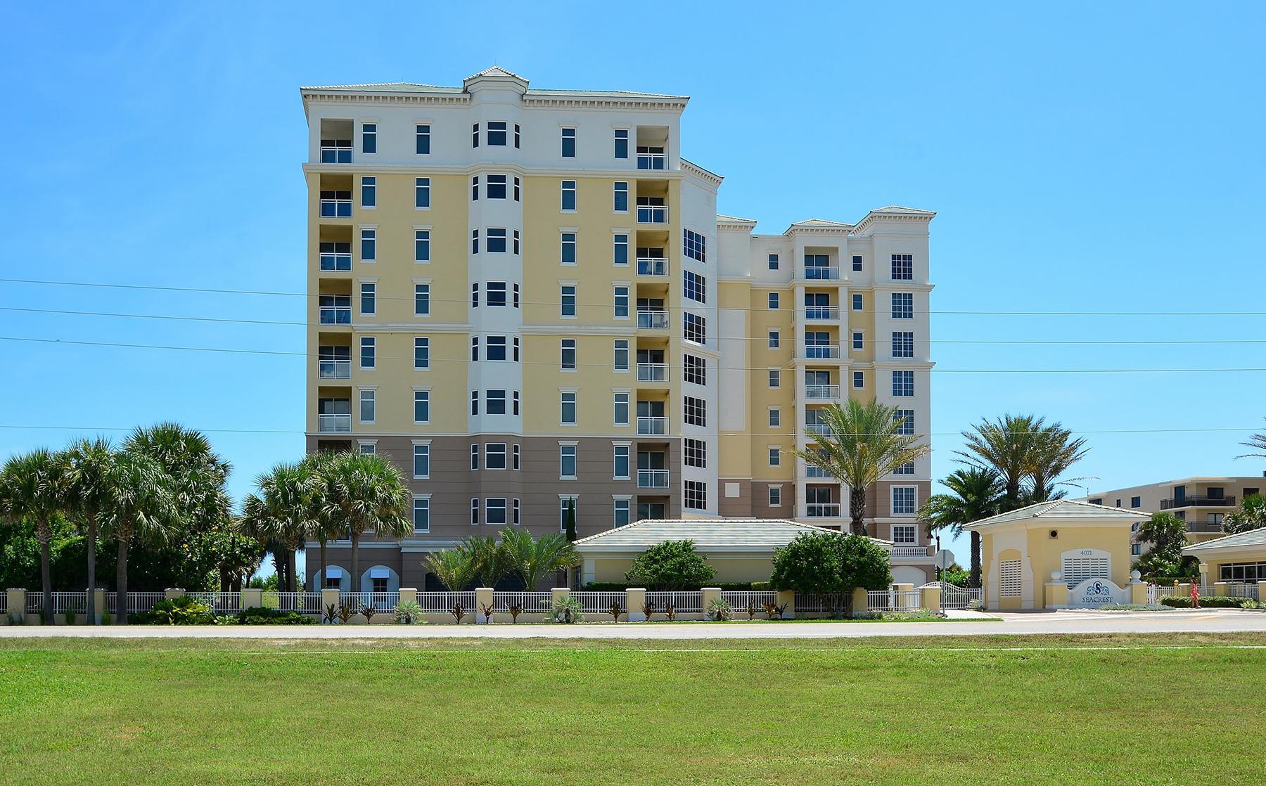 共管物業 為 出售 在 NEW SMYRNA BEACH - FLORIDA 4071 S Atlantic Ave 801 New Smyrna Beach, 佛羅里達州, 32169 美國