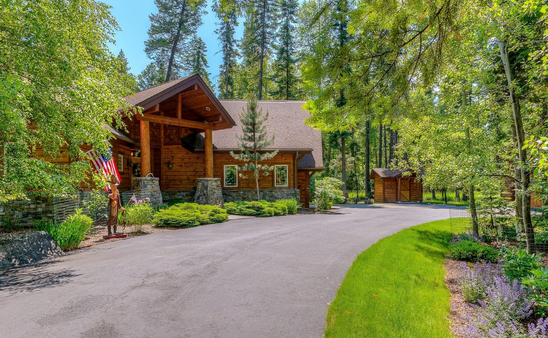 一戸建て のために 売買 アット 12336 Swan , Bigfork, MT 59911 12336 Swan Bigfork, モンタナ, 59911 アメリカ合衆国