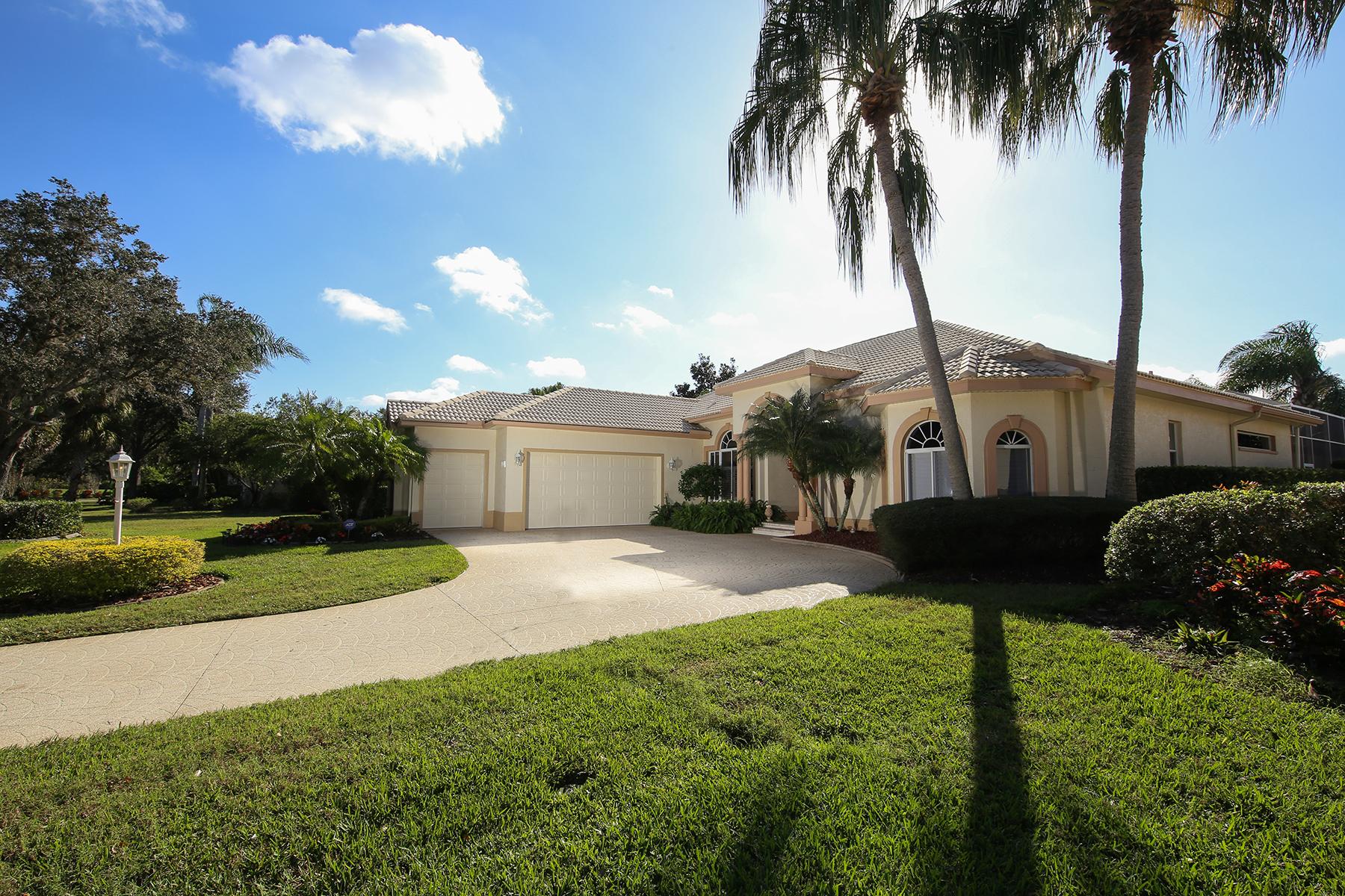 独户住宅 为 销售 在 UNIVERSITY PARK COUNTRY CLUB 7510 Eaton Ct University Park, 佛罗里达州, 34201 美国