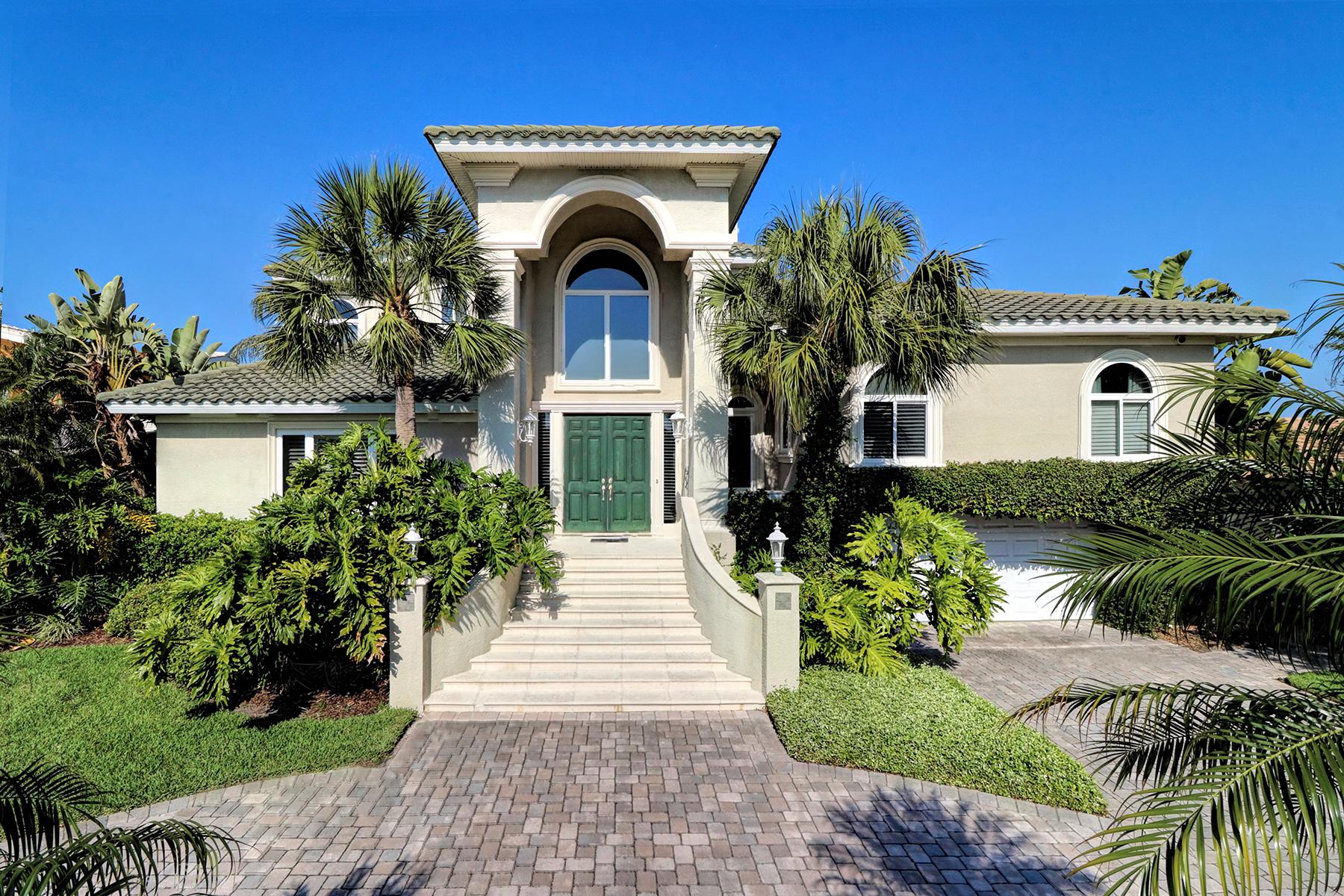 独户住宅 为 销售 在 CLEARWATER 56 Windward 克利尔沃特海滩, 佛罗里达州, 33767 美国
