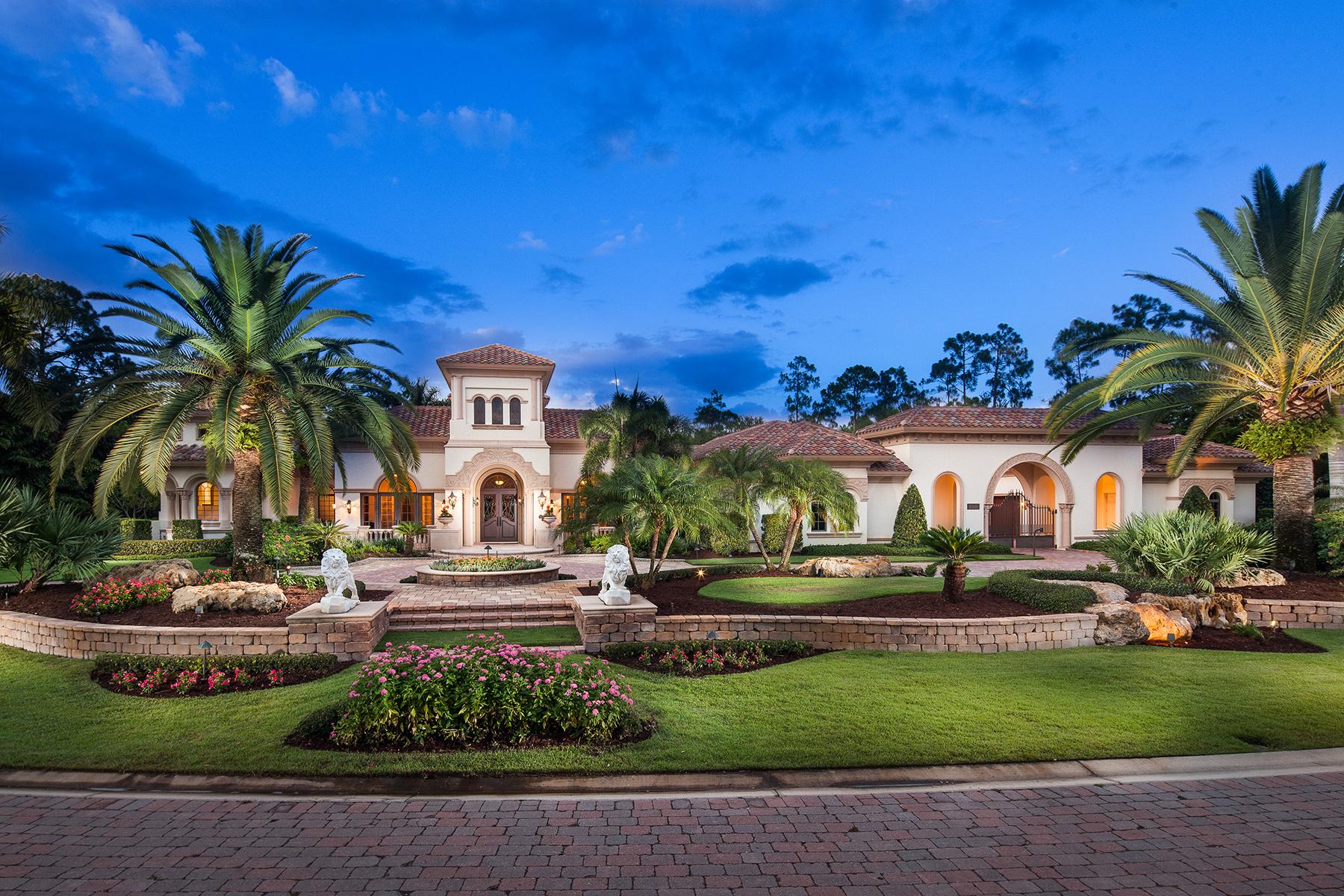 Single Family Home for Sale at MEDITERRA - VERONA 16961 Verona Ln Naples, Florida, 34110 United States