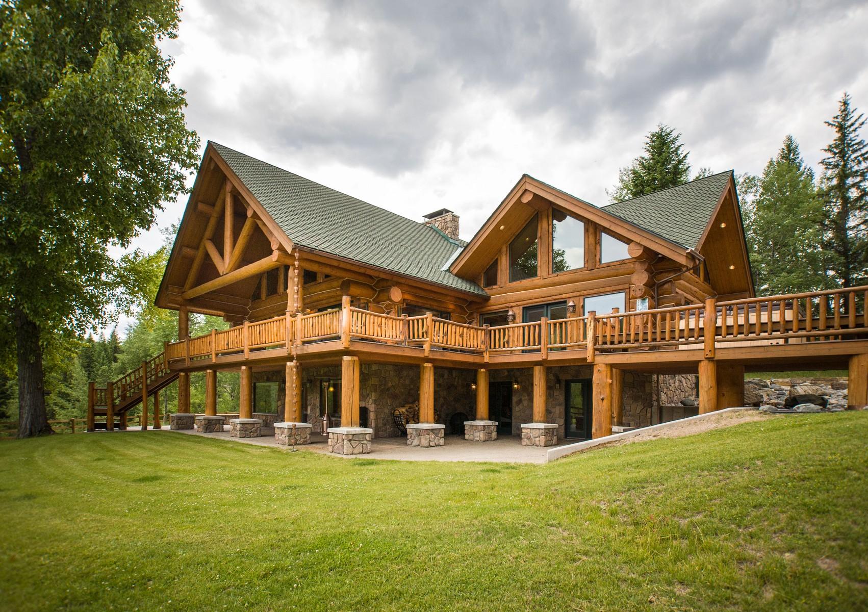 Single Family Home for Sale at Ten Lakes Nhn Eureka, Montana, 59917 United States