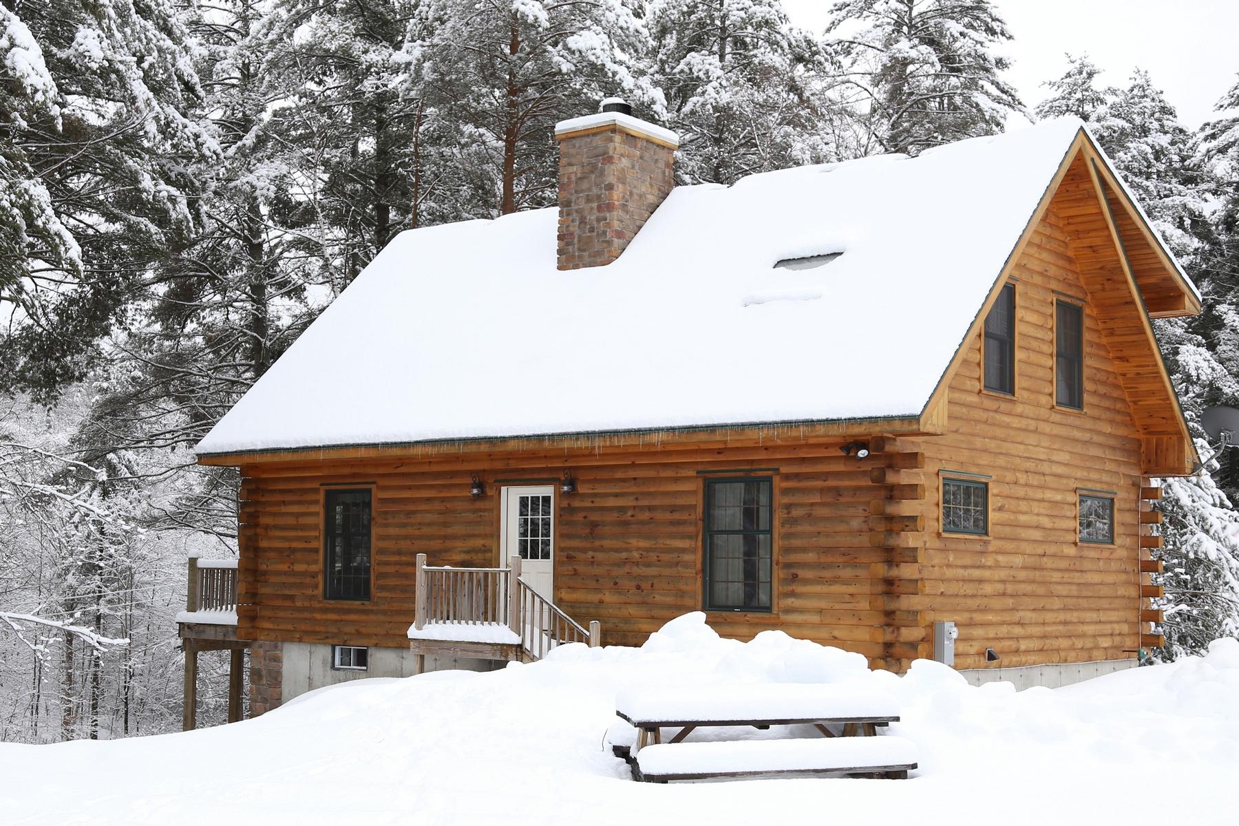 Maison unifamiliale pour l Vente à Adirondack Chalet 21 Bianca Rd Stony Creek, New York 12878 États-Unis
